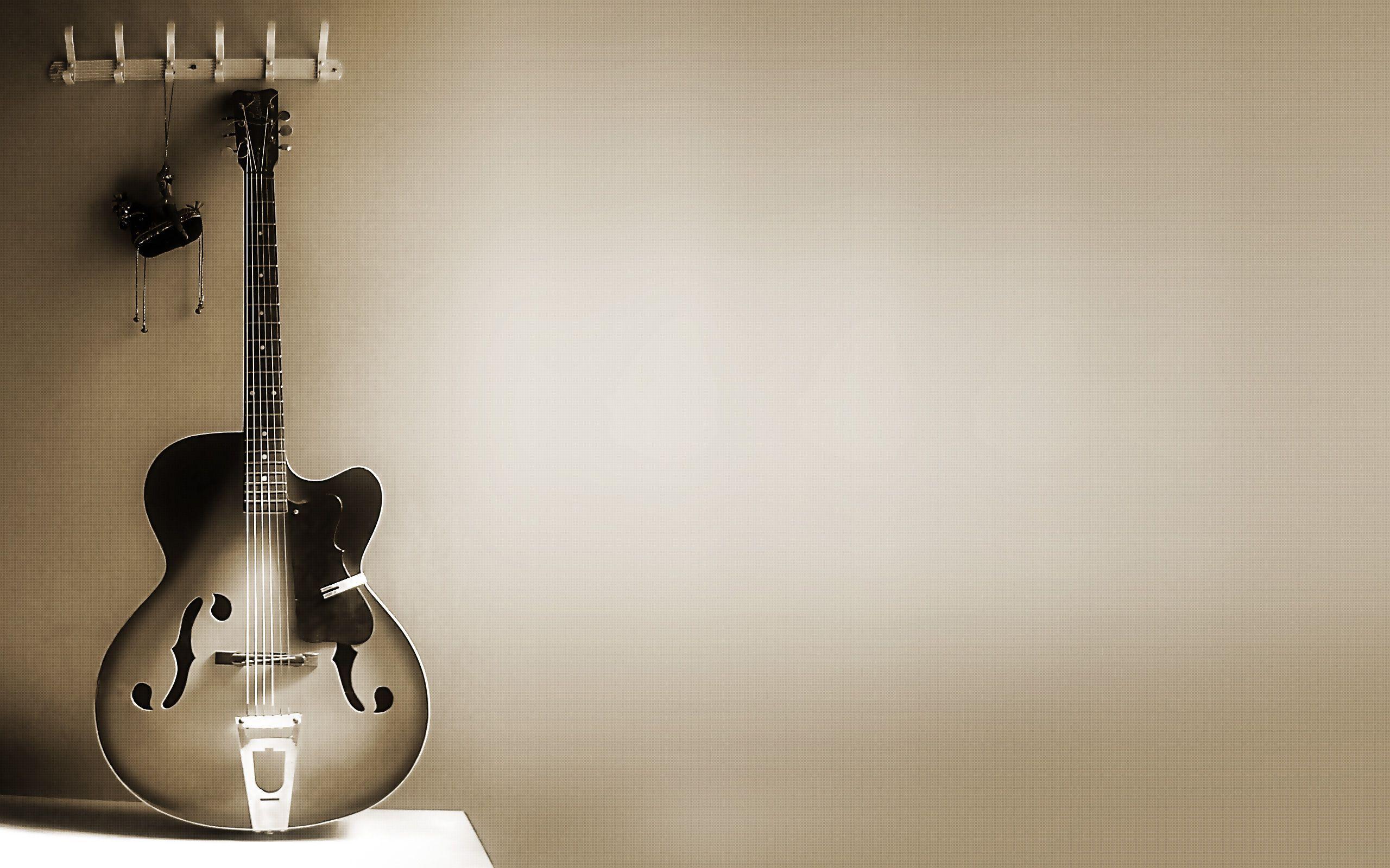 Guitar Backgrounds Hd Wallpaper Cave