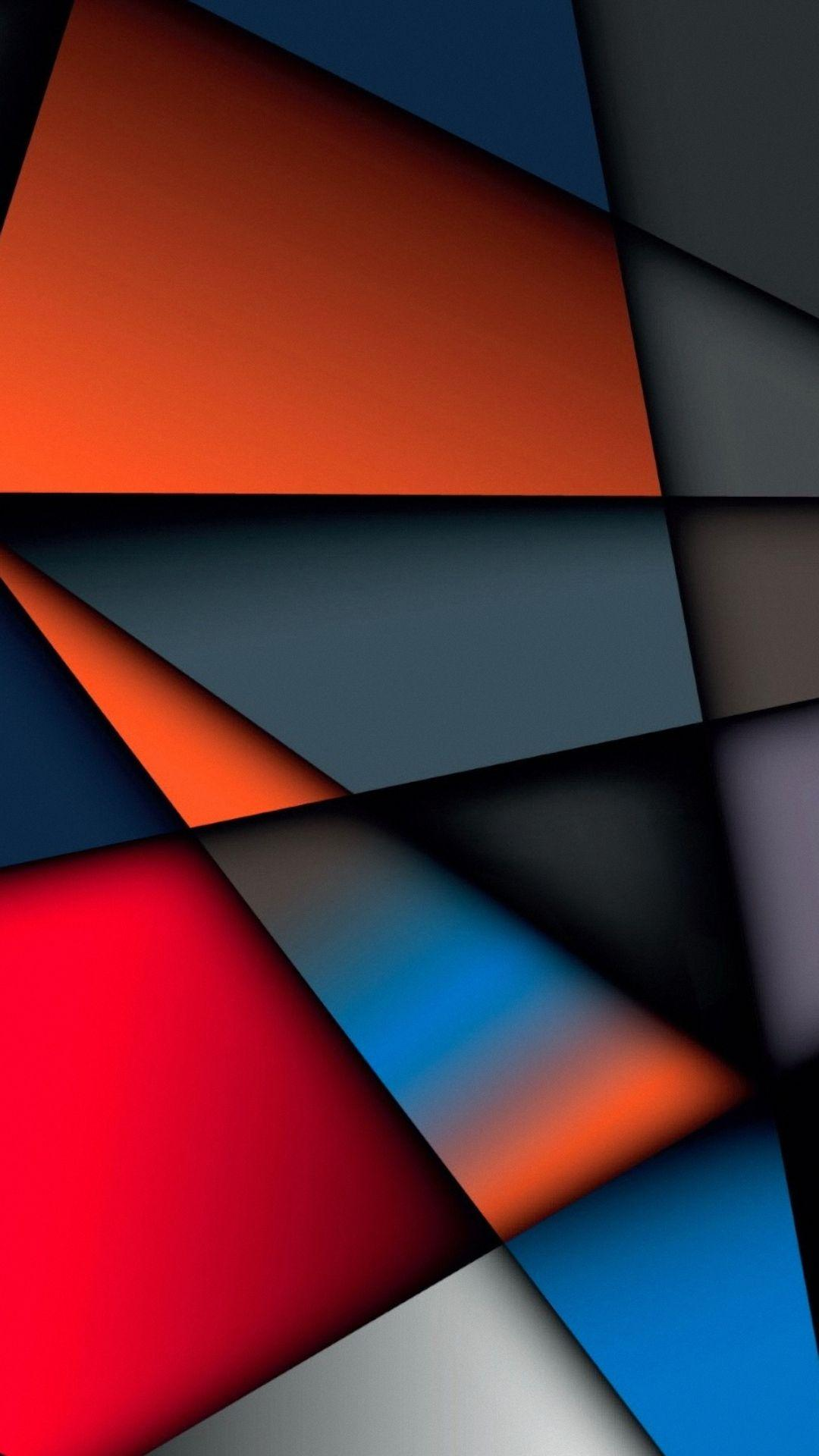 Abstract Multicolor Geometry Shape htc desire Wallpapers HD 1080x1920