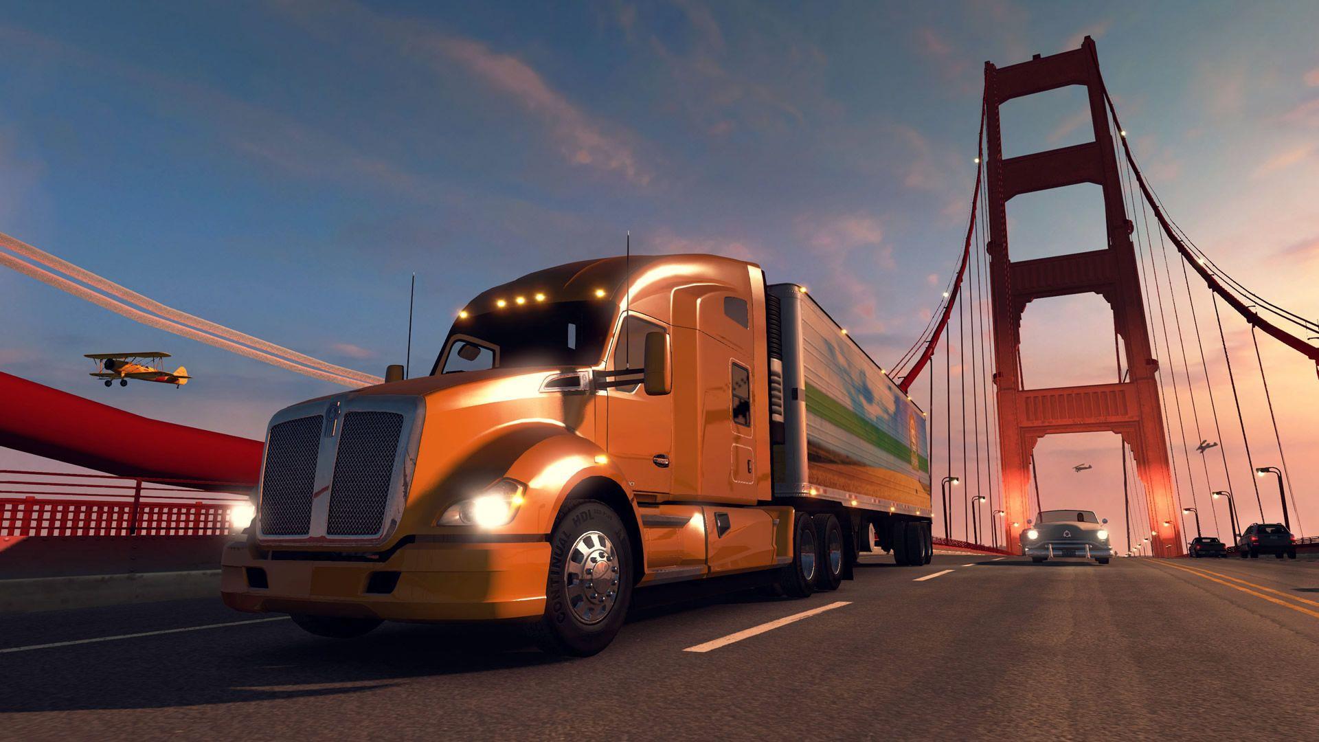 American Truck Simulator Wallpapers Wallpaper Cave