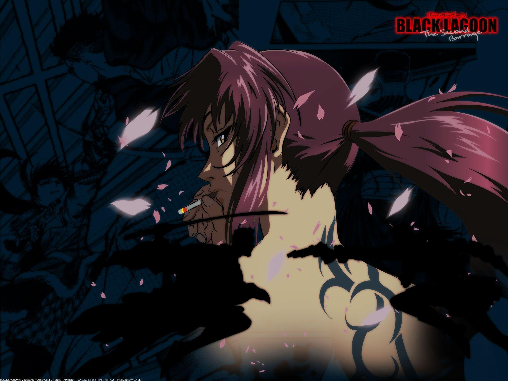 Black Lagoon Revy Wallpapers Hd Wallpaper Cave