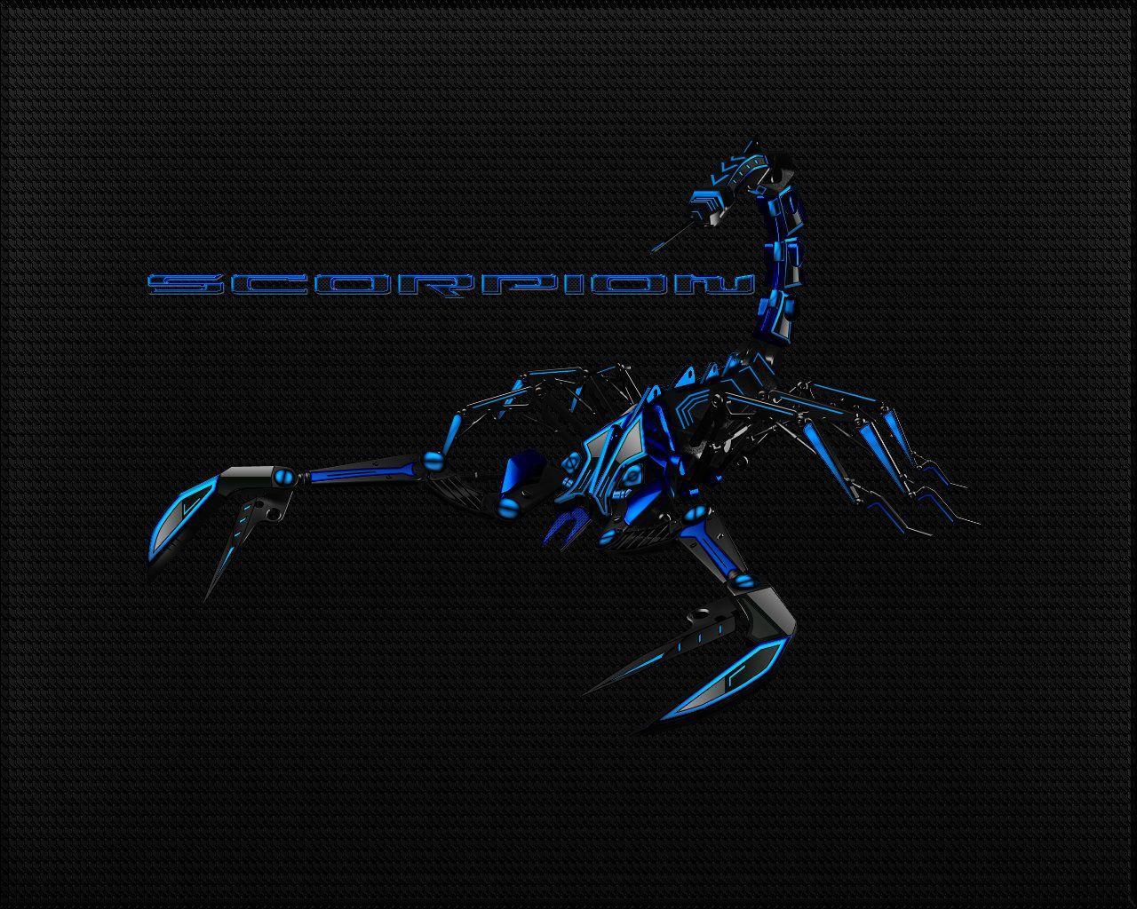 Black Blue Scorpion Wallpaper By Micro31337 On DeviantArt