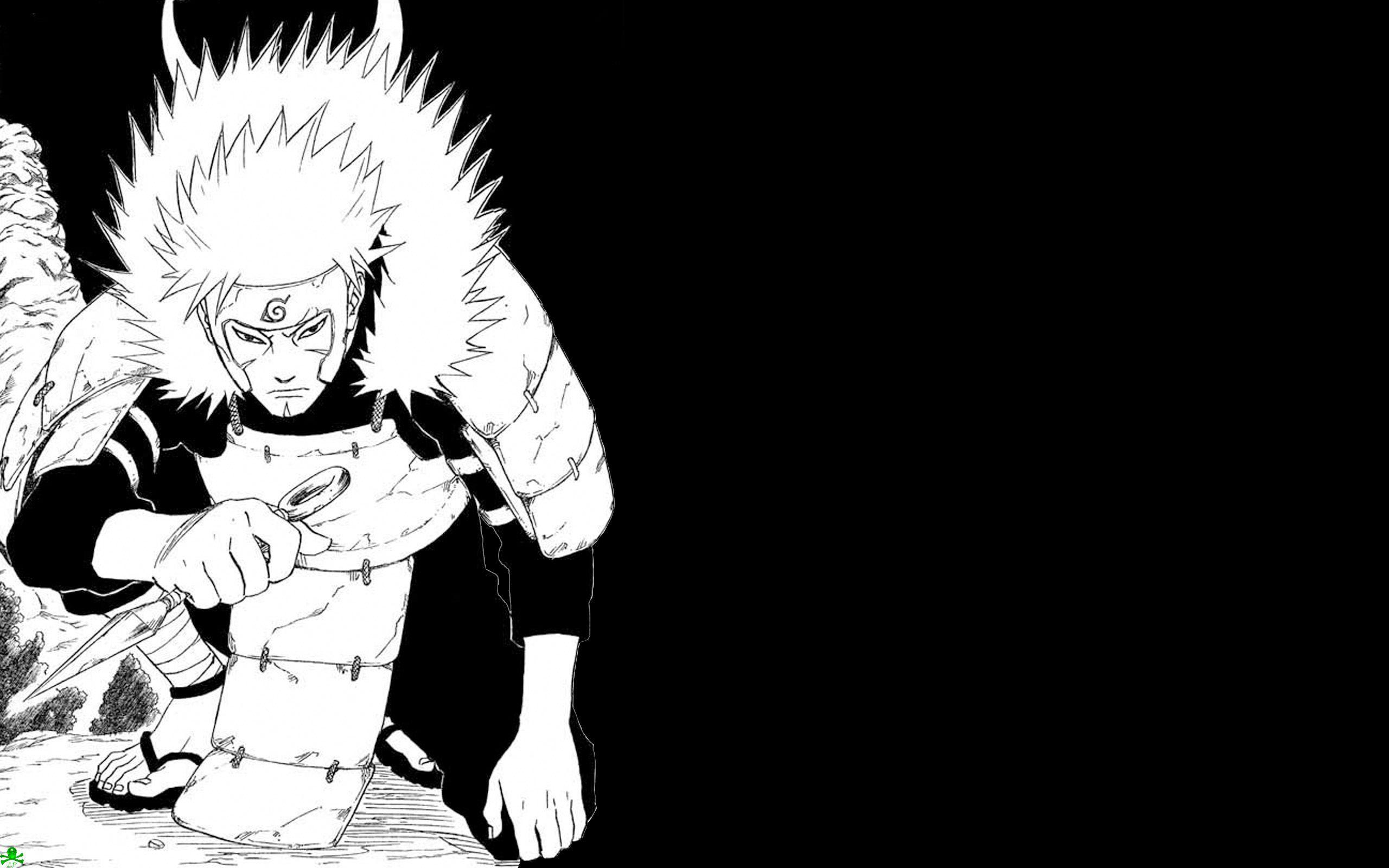 Naruto Backgrounds Hitam Wallpaper Cave