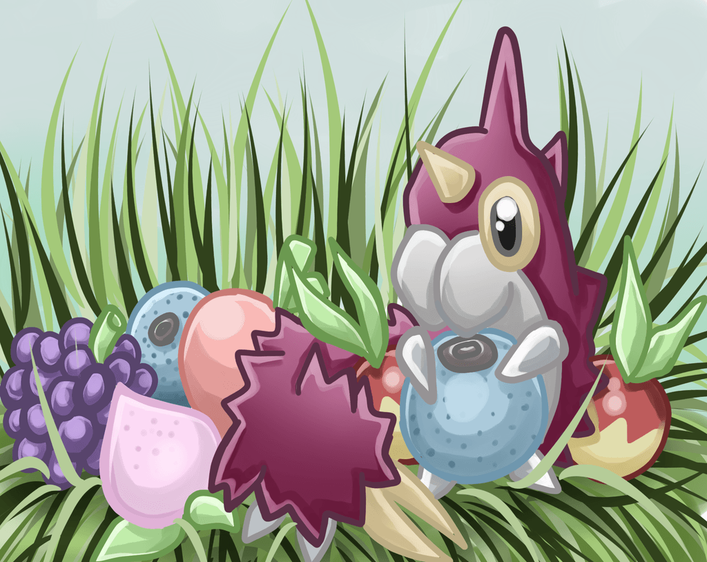 Berries! Wurmple Pokedex Contest by Caithlyn on DeviantArt