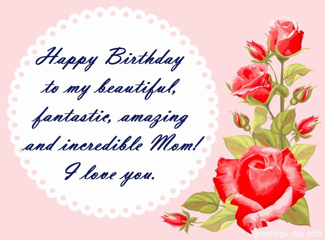 Awe Inspiring Happy Birthday Mom Wallpapers Wallpaper Cave Funny Birthday Cards Online Fluifree Goldxyz