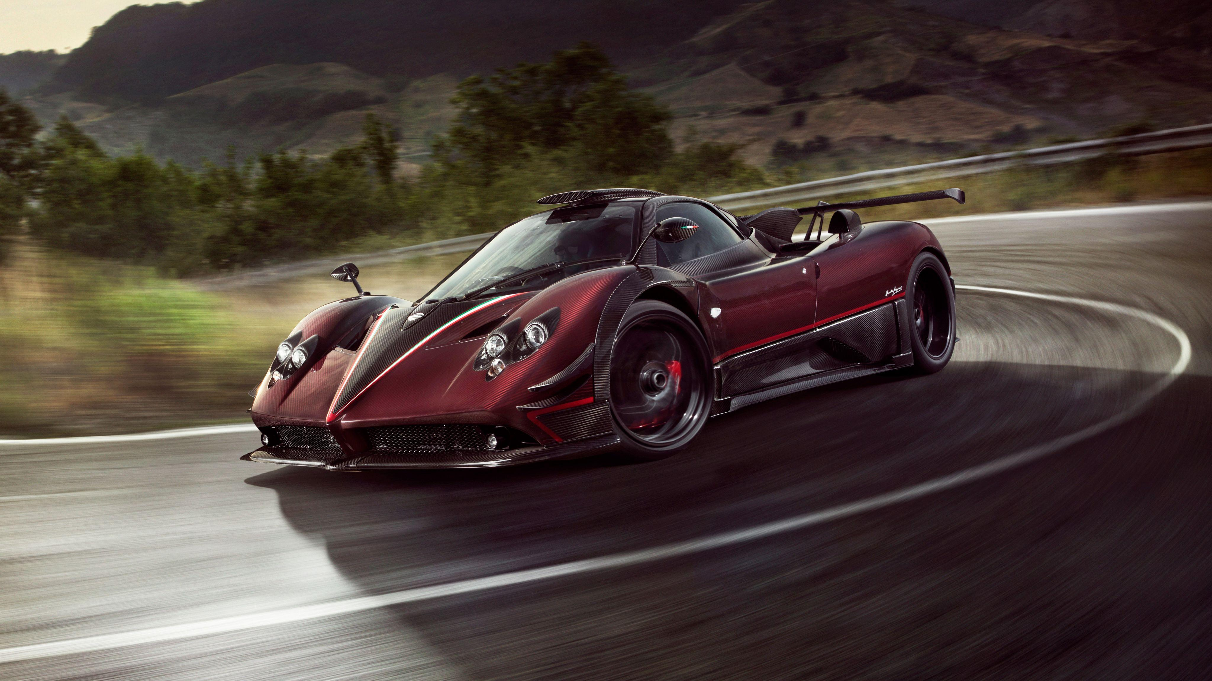 2017 Pagani Zonda Fantasma Evo 4K Wallpapers
