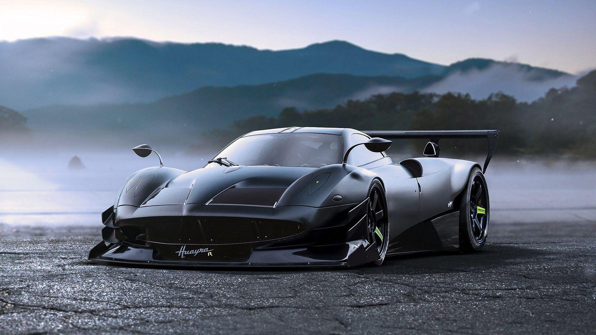 Pagani Huayra R Concept Wallpapers