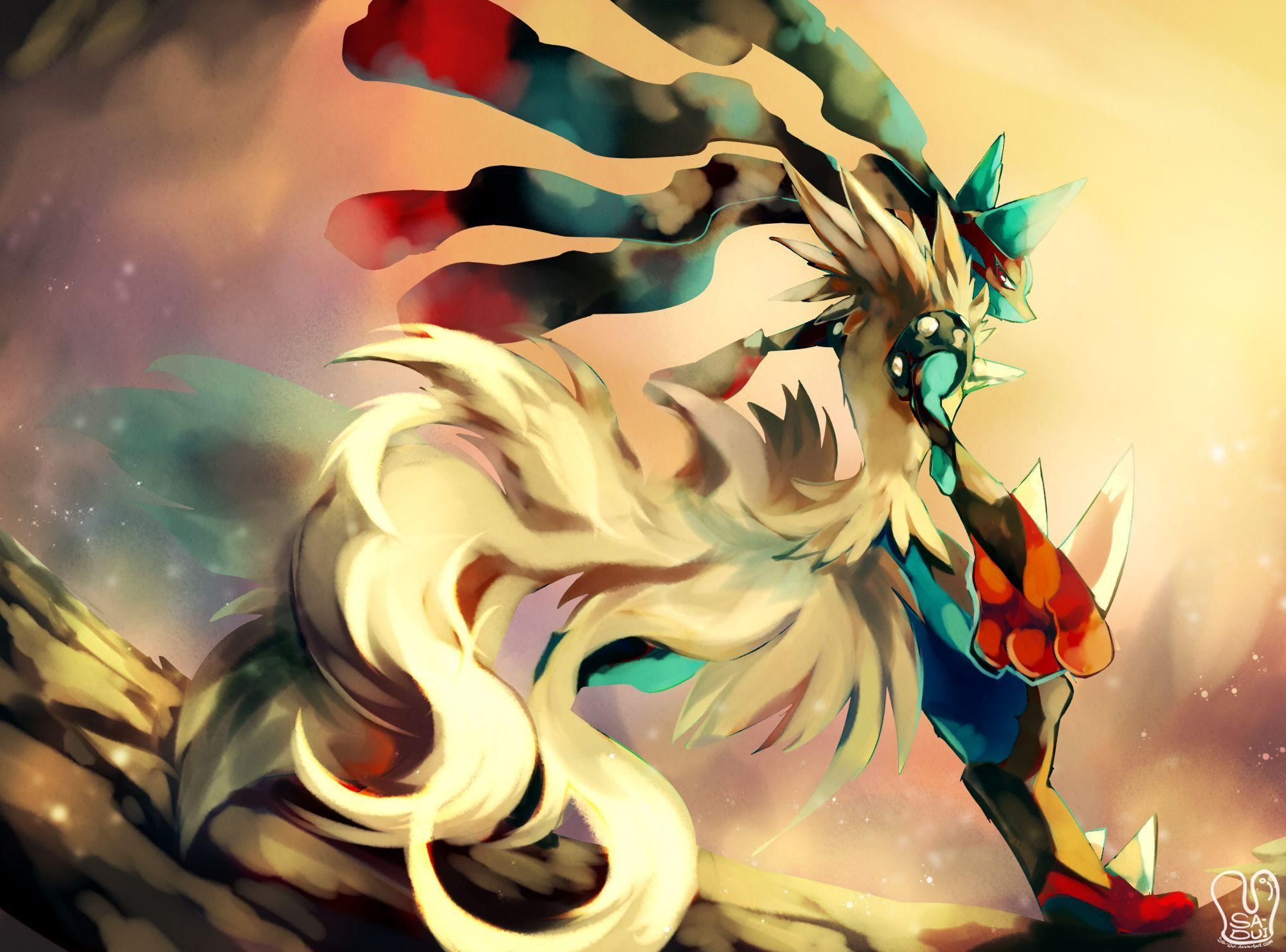 Mega Lucario Full HD Wallpaper and Background Image | 2000x1481 | ID ...