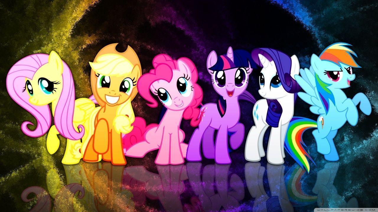 MLP FiM:Mane 6 Wallpaper   MLP (My Little Pony Friendship is Magic ...