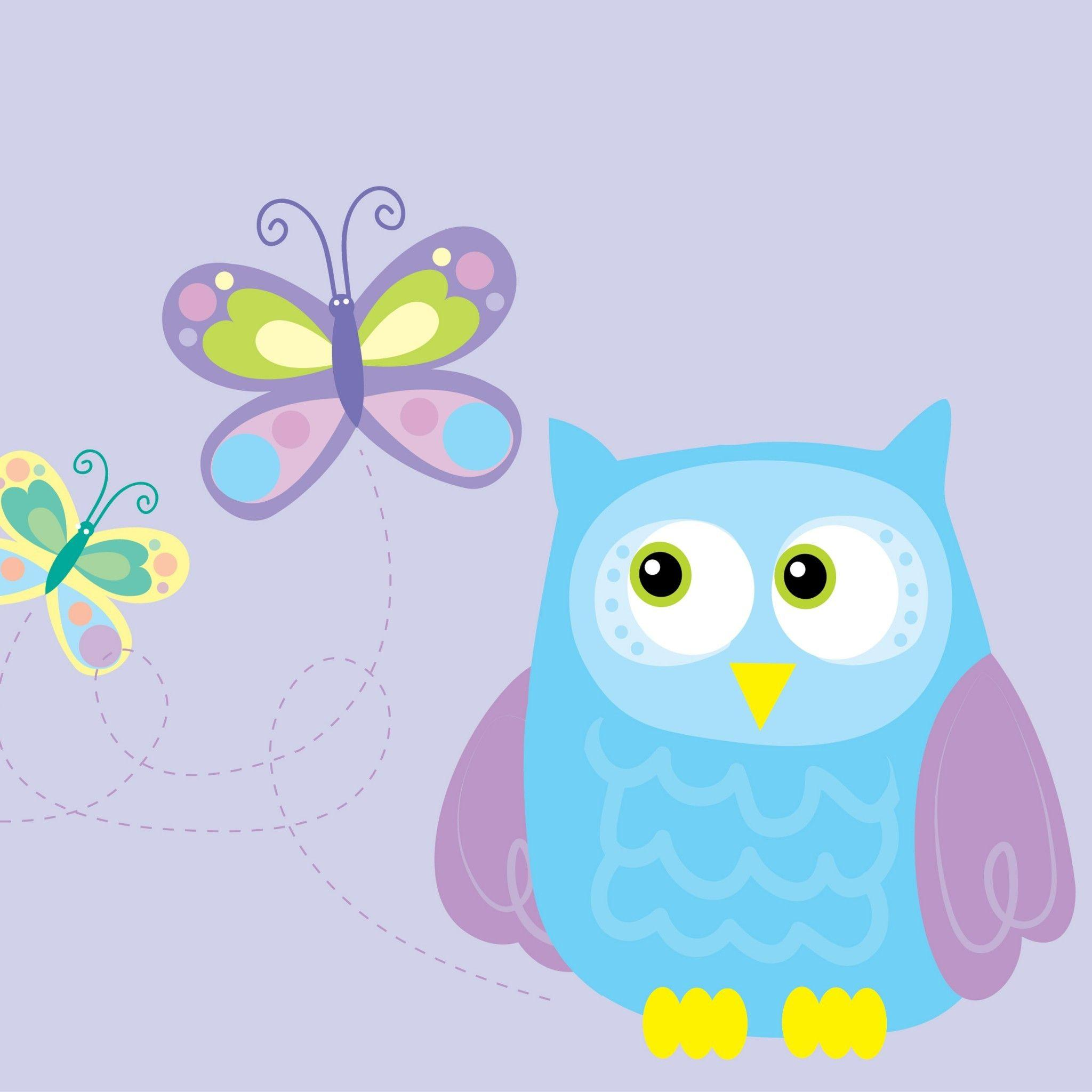 Owl Cartoon Wallpapers - Wallpaper Cave