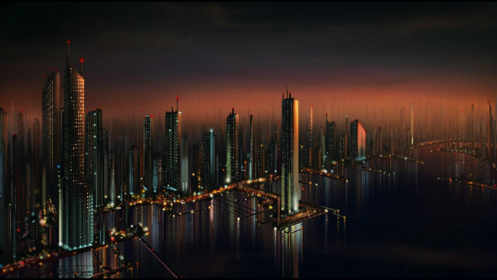 Cityscape HD Wallpapers Group (79+)