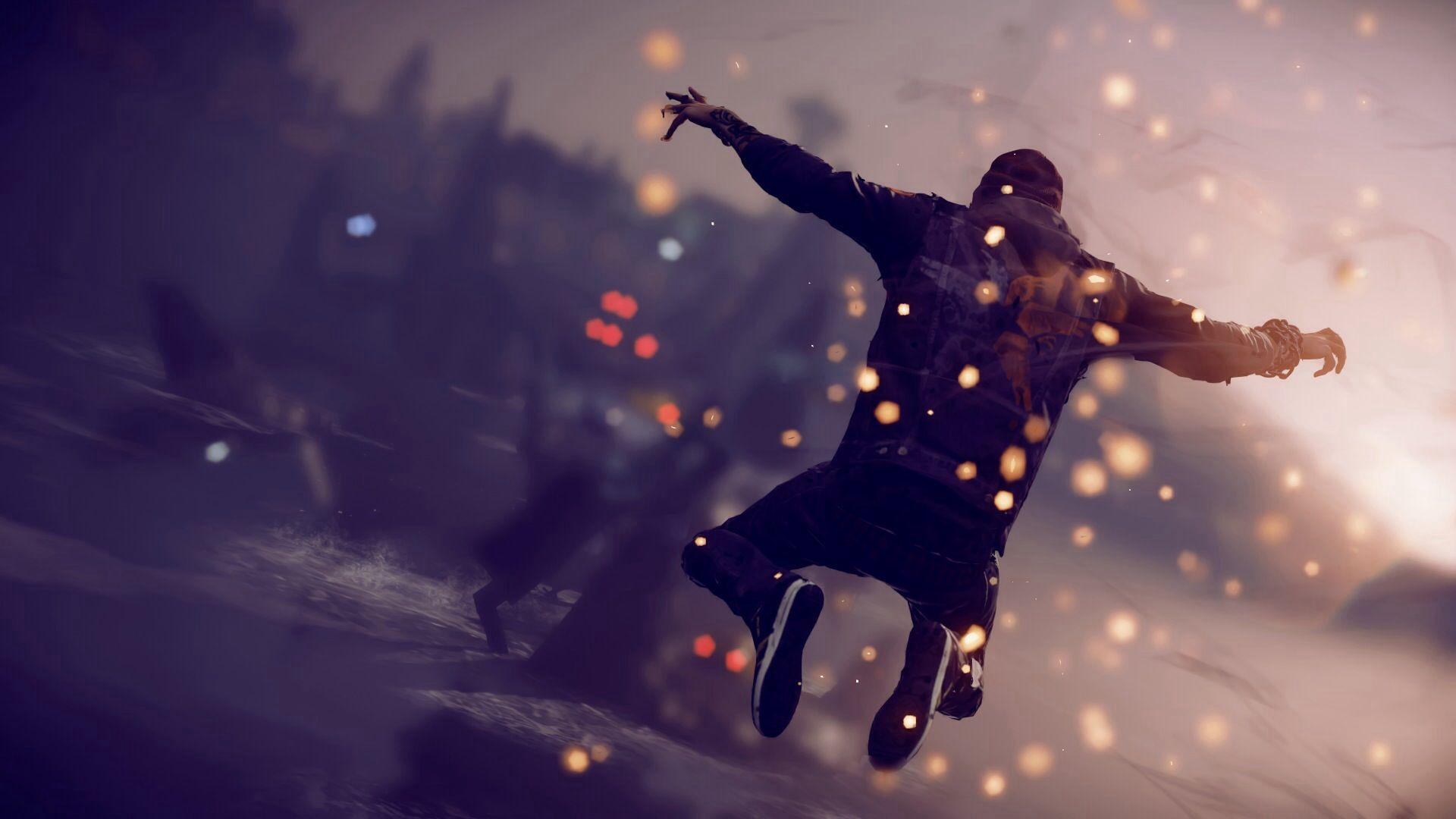 Games inFAMOUS Second Son wallpapers