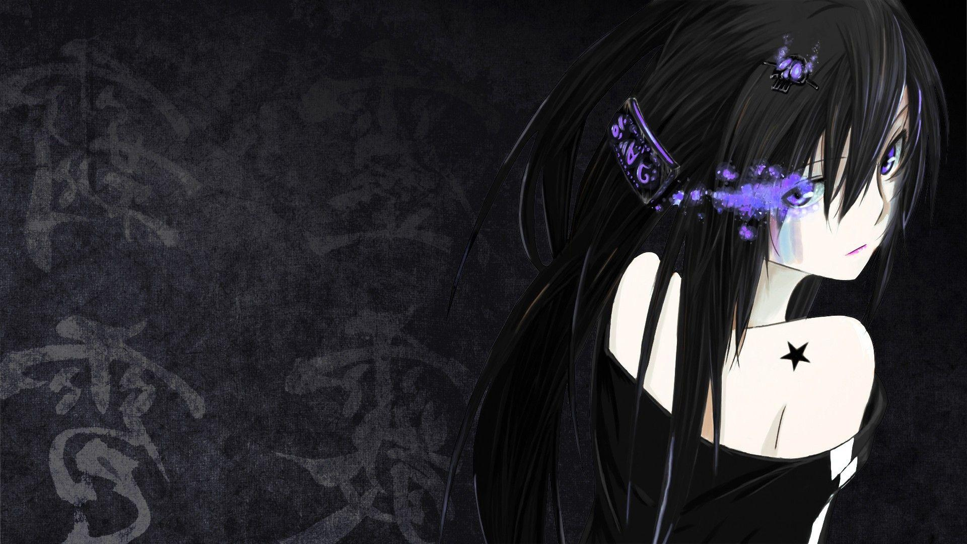 Unique 1920x1080 dark anime girl wallpapers gallery anime wallpaper hd