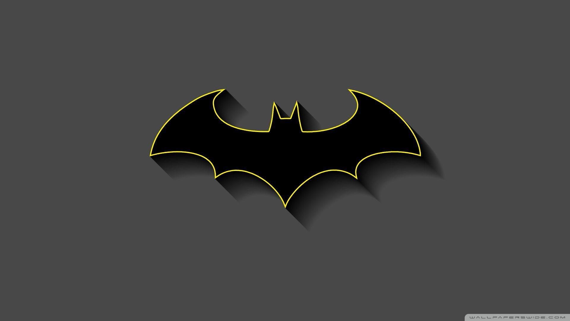 Batman Minimalist Wallpapers Wallpaper Cave