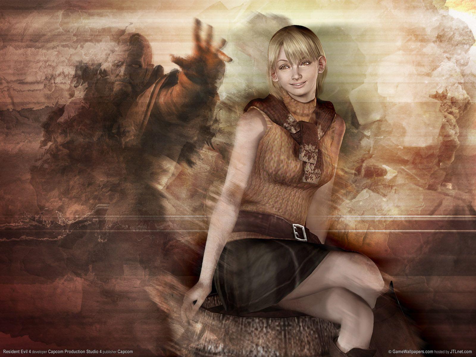 Resident Evil 4 Ashley Graham Wallpapers Wallpaper Cave