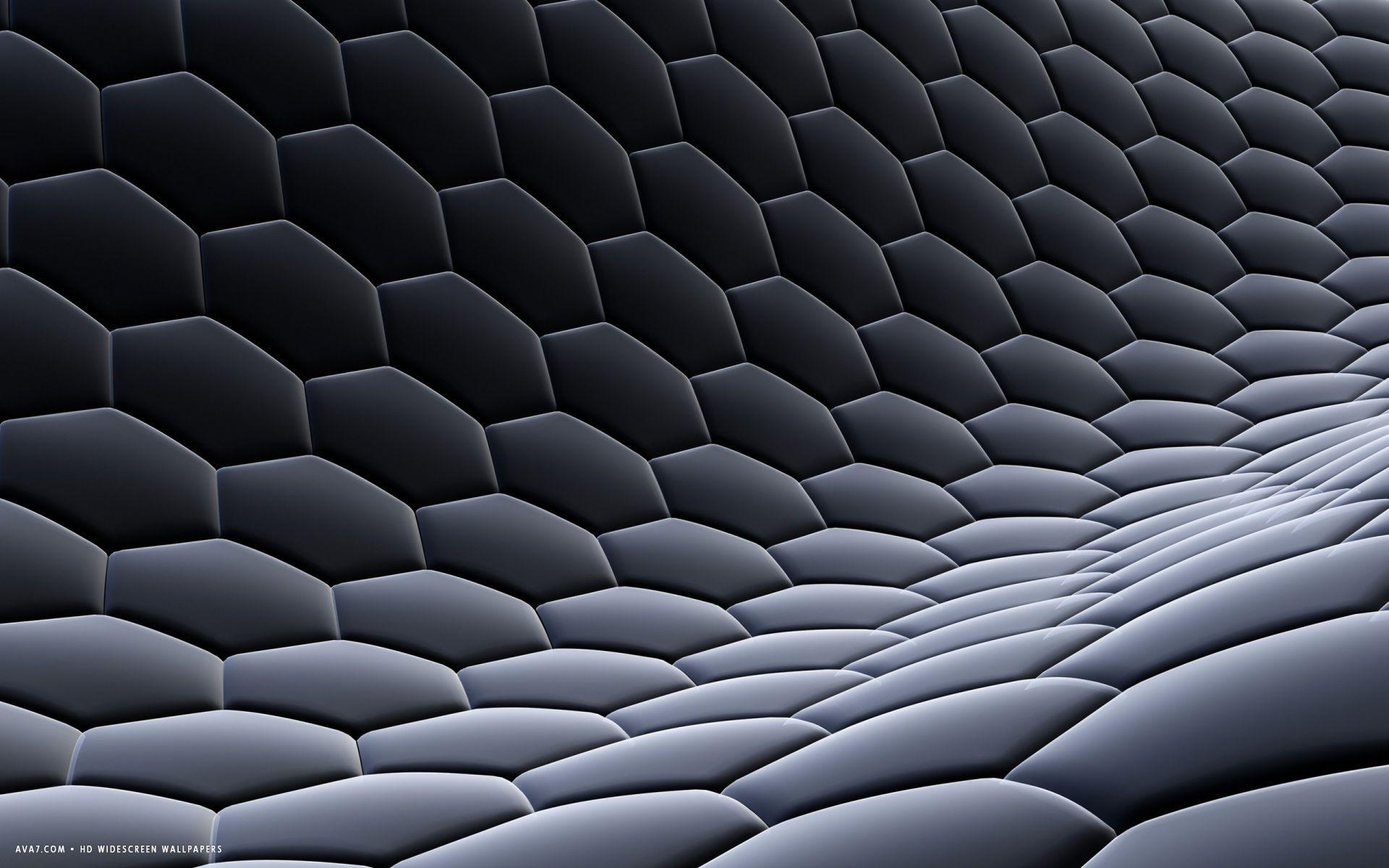 Hex Grid Wallpaper Many Hd