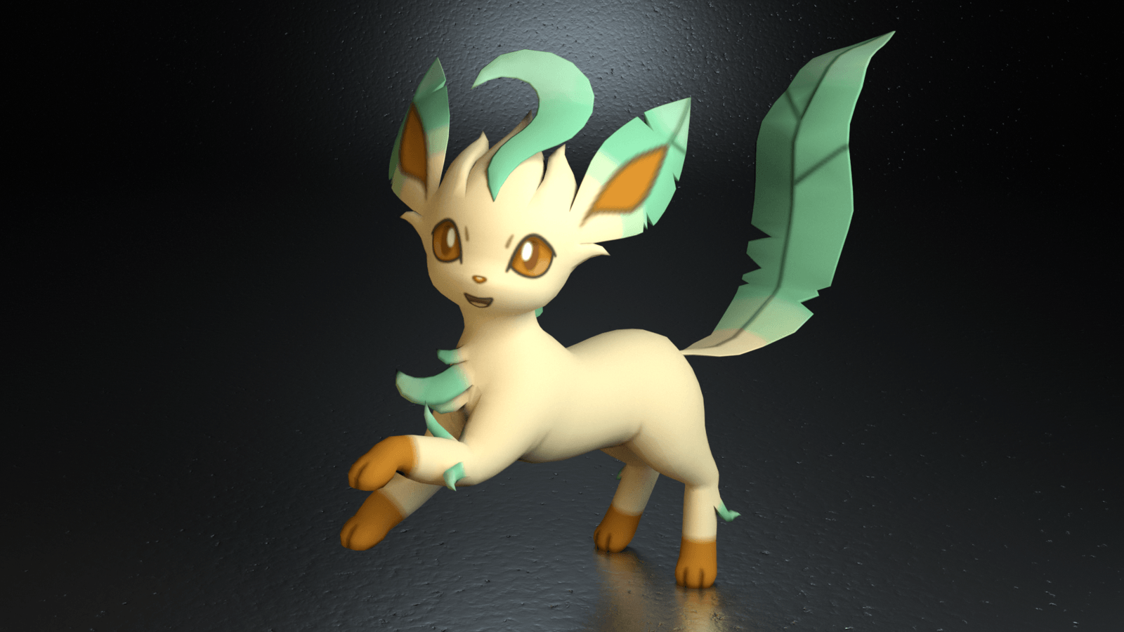 470. Leafeon by TheAdorableOshawott