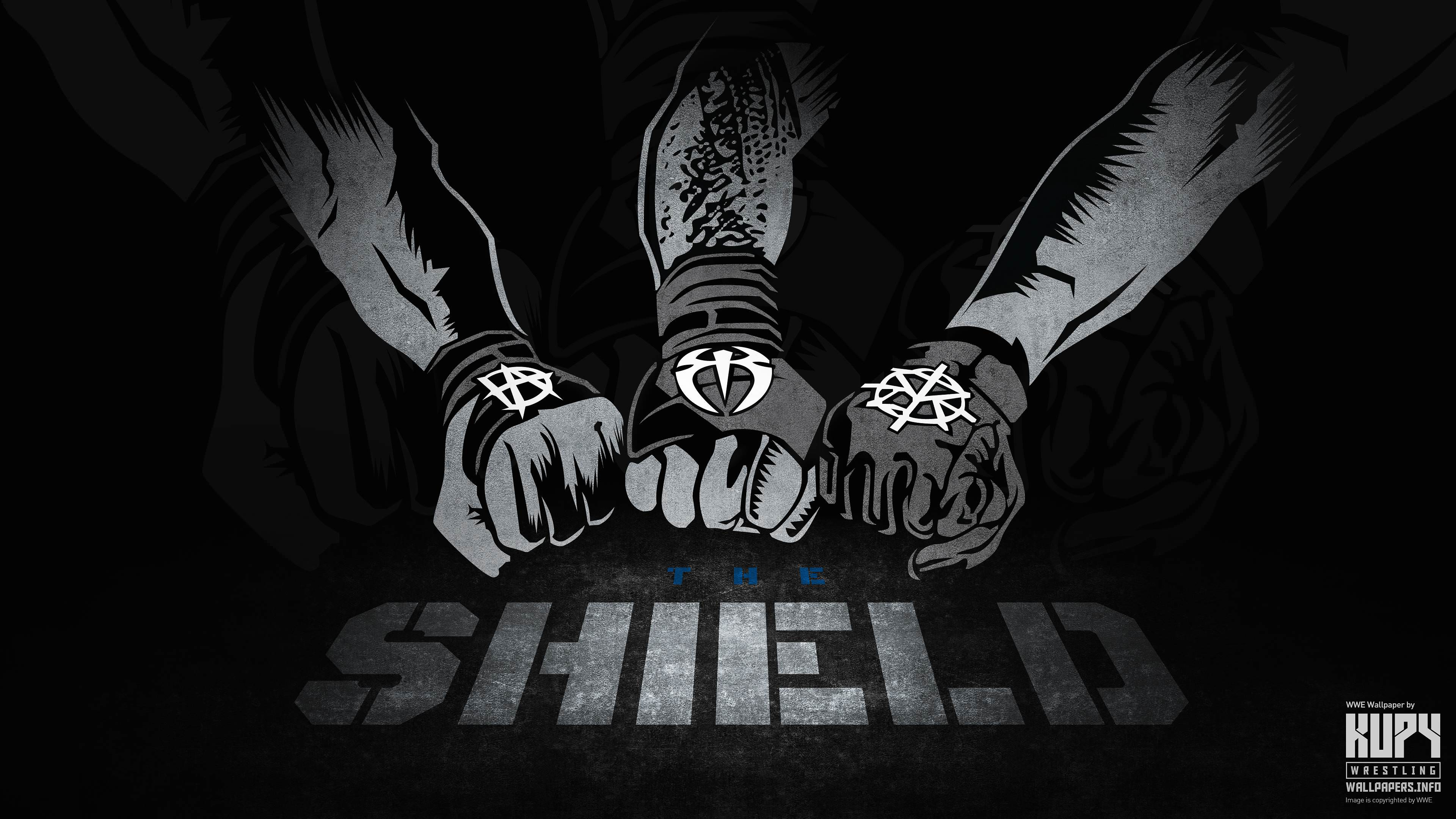 WWE Shield Logo Wallpapers - Wallpaper Cave