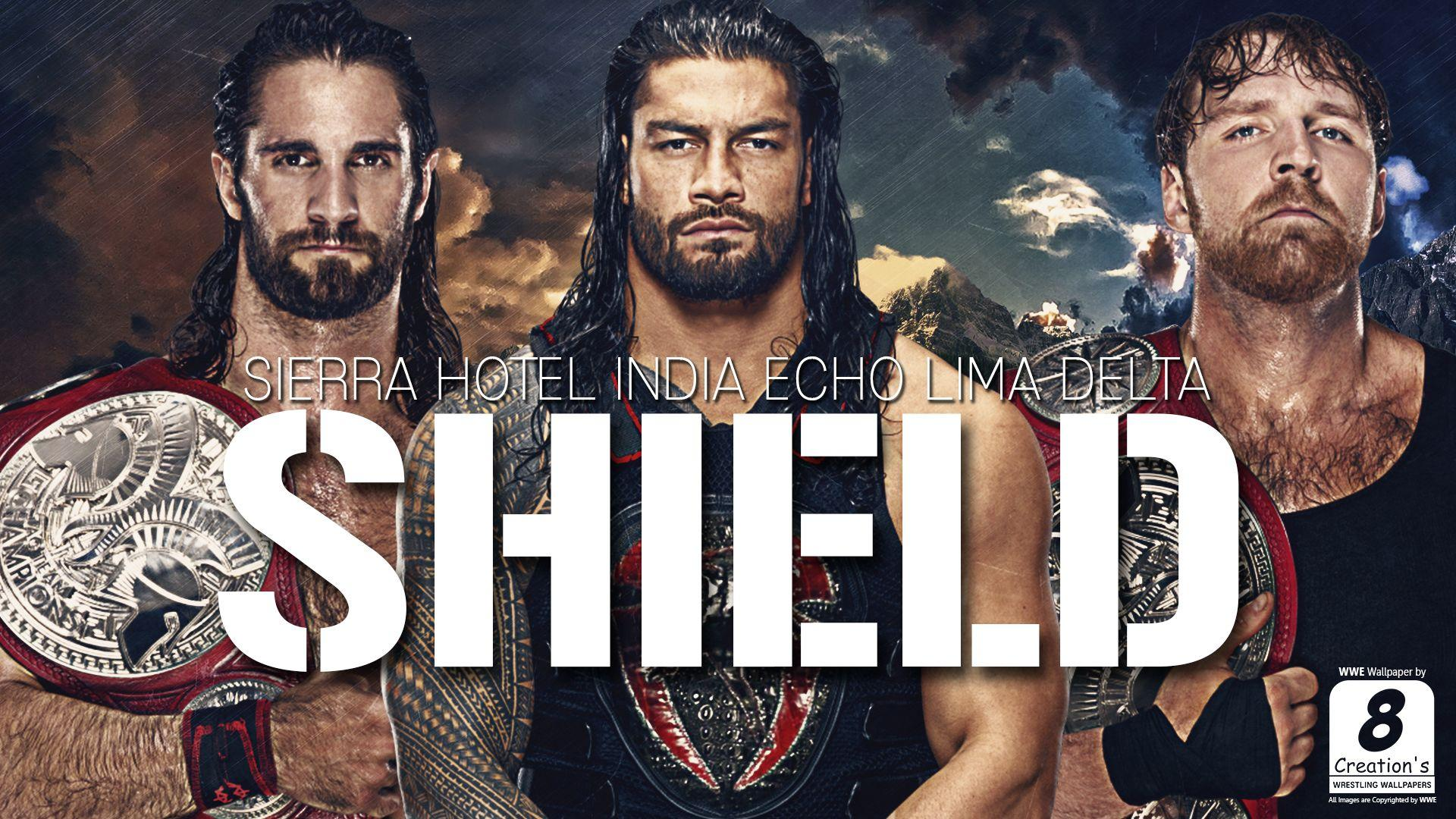 Shield Wwe Wallpapers Wallpaper Cave
