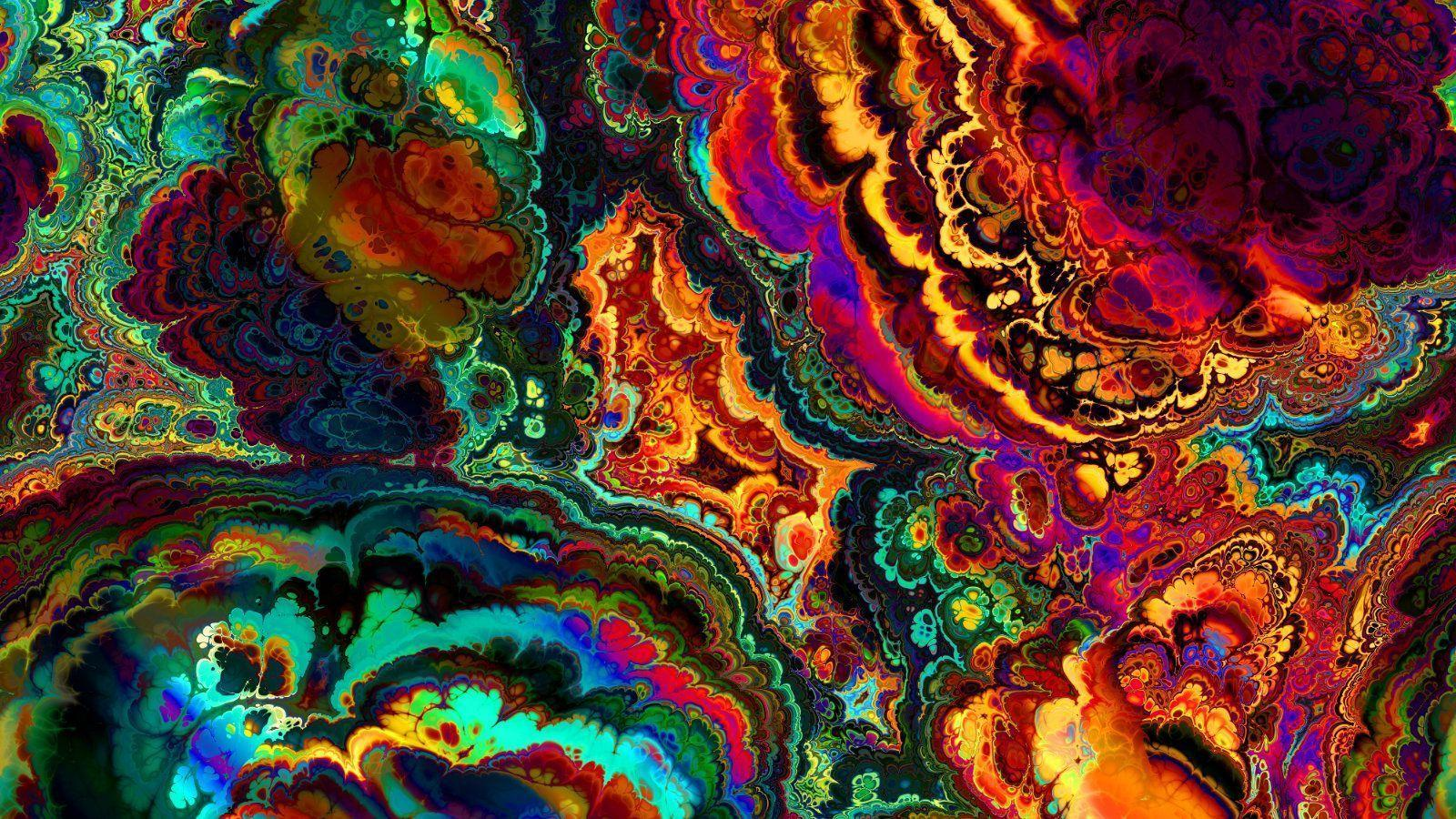 Trippy Weed Wallpapers Wallpaper Cave
