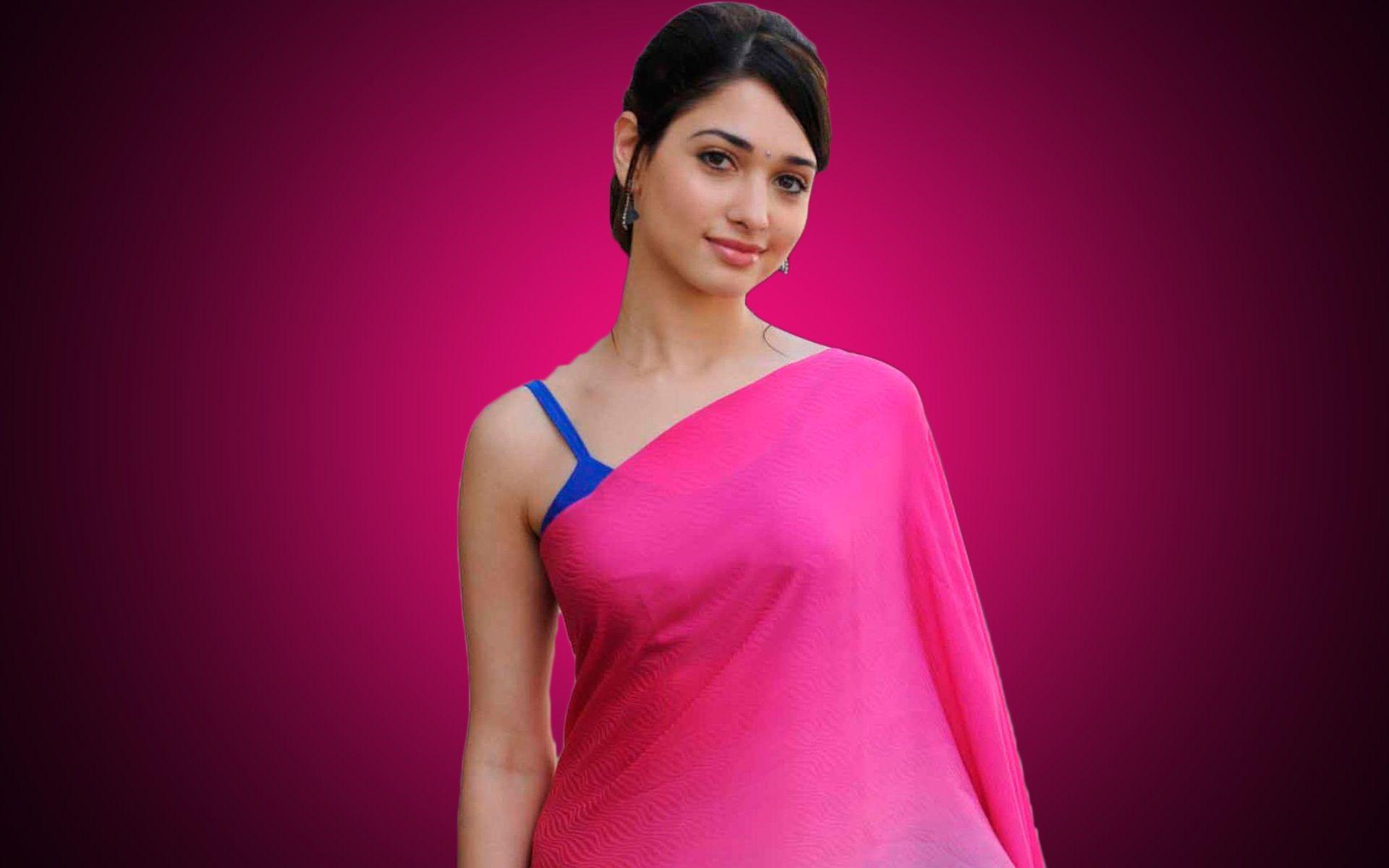 Tamanna Hd Saree Wallpaper