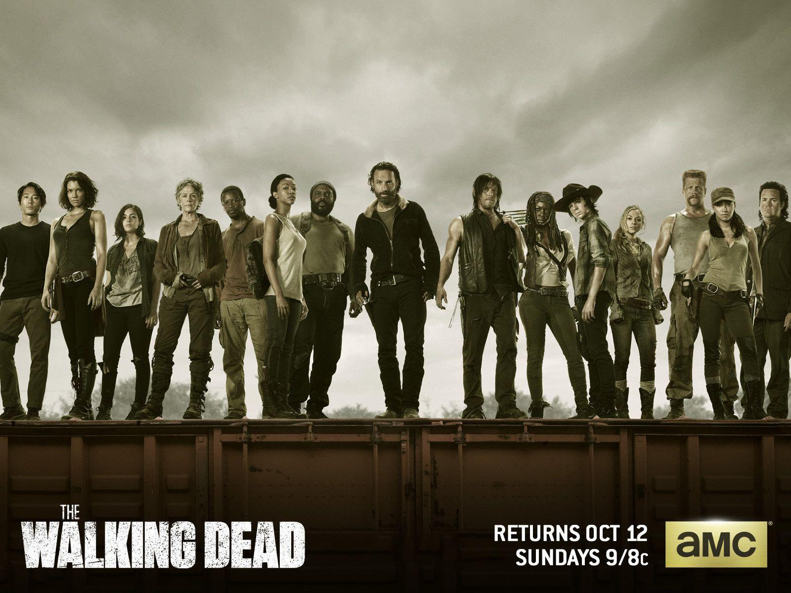 The Walking Dead Season 5 Wallpapers Wallpaper Cave