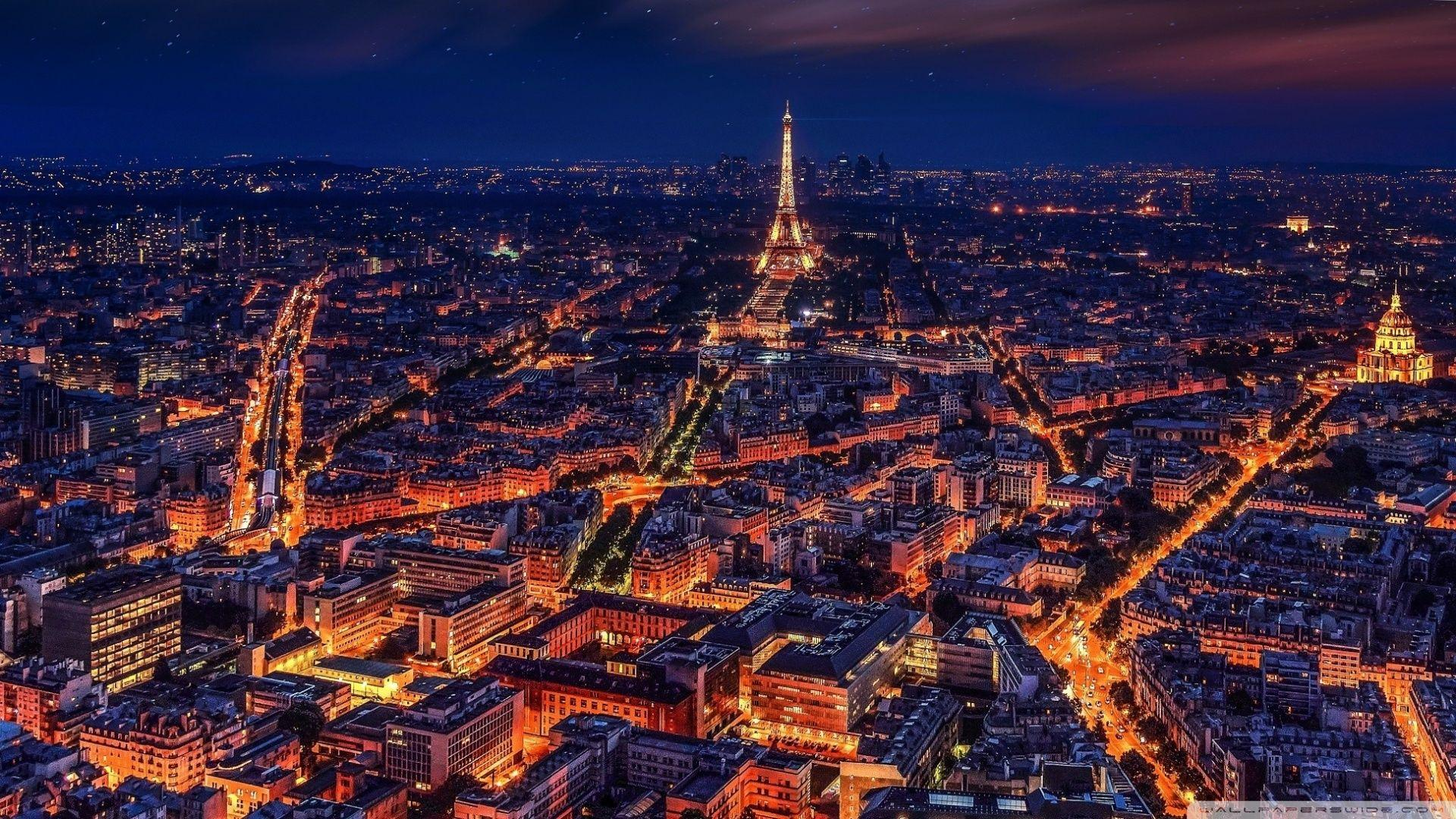 Paris Night Wallpapers Wallpaper Cave