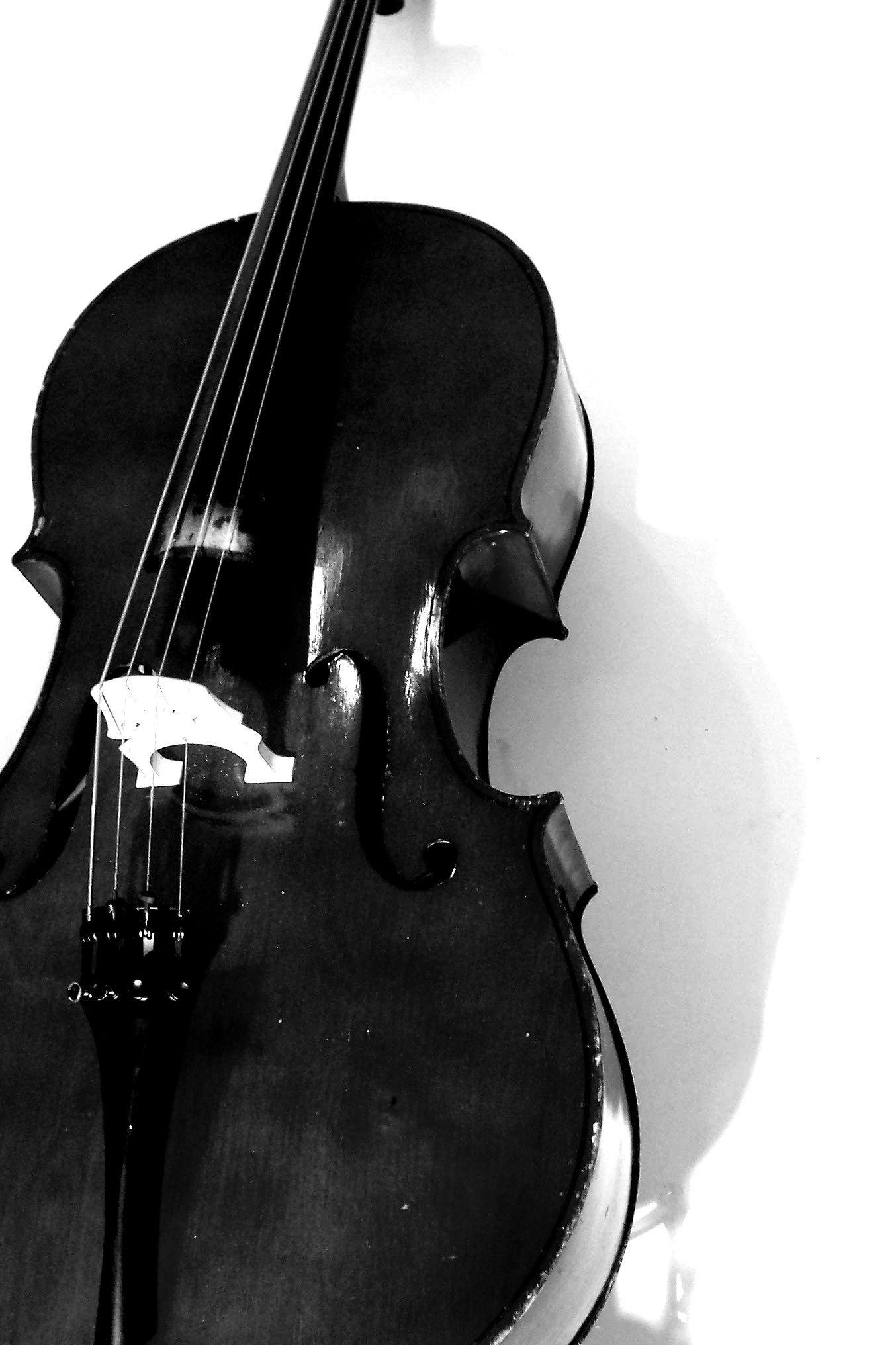 Image For > Black And White Cello Wallpapers