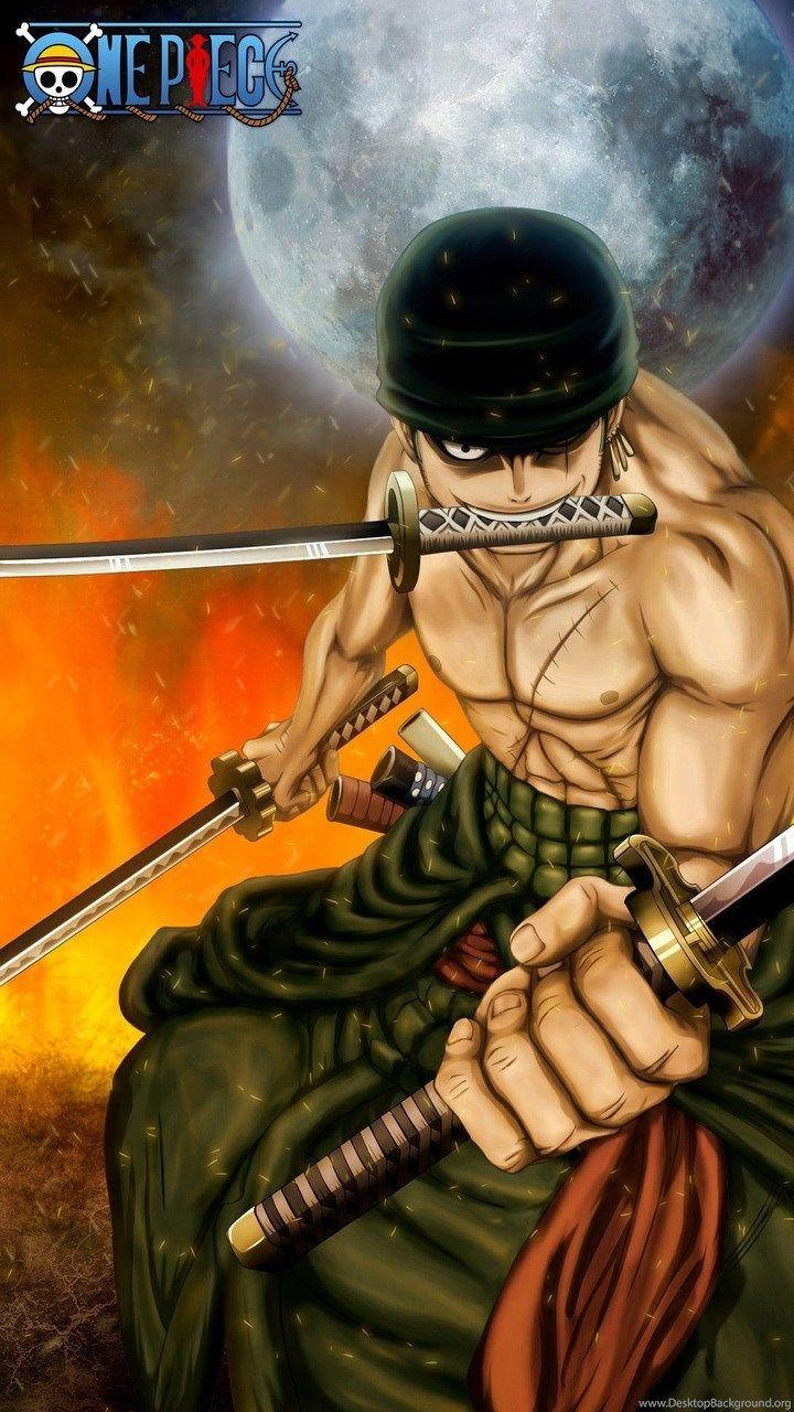 One Piece Zoro Mobile Backgrounds Wallpaper Cave