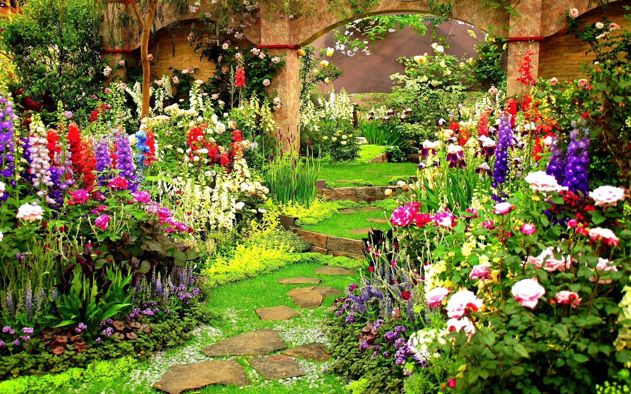 Garden HD Wallpapers - Wallpaper Cave