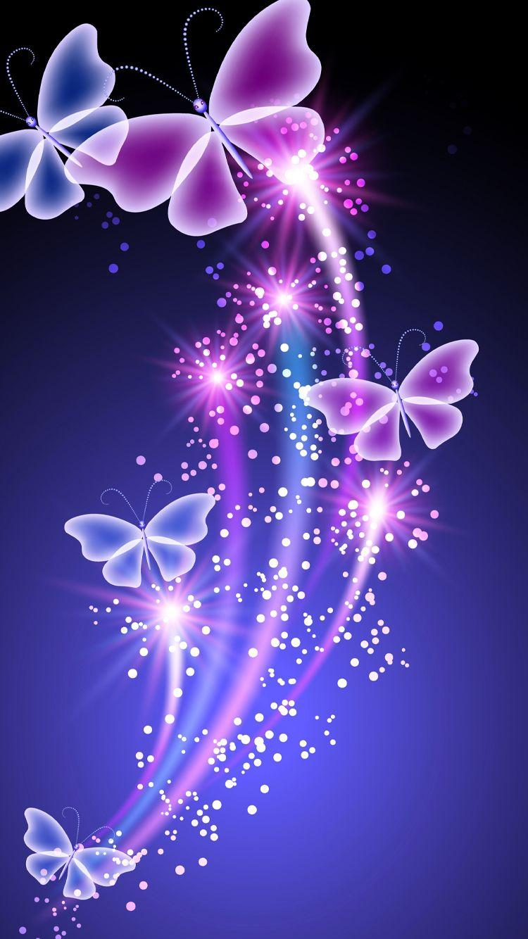 Cute Butterfly Wallpapers For Mobile Phones Wallpaper Cave