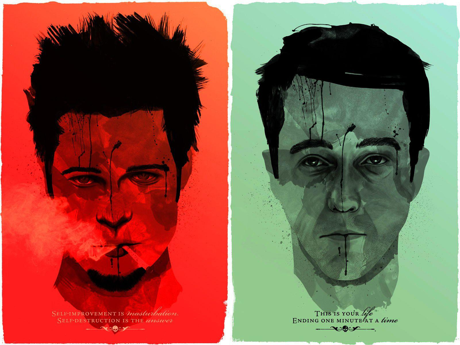 Download the Faces of Fight Club Wallpaper, Faces of Fight Club ...