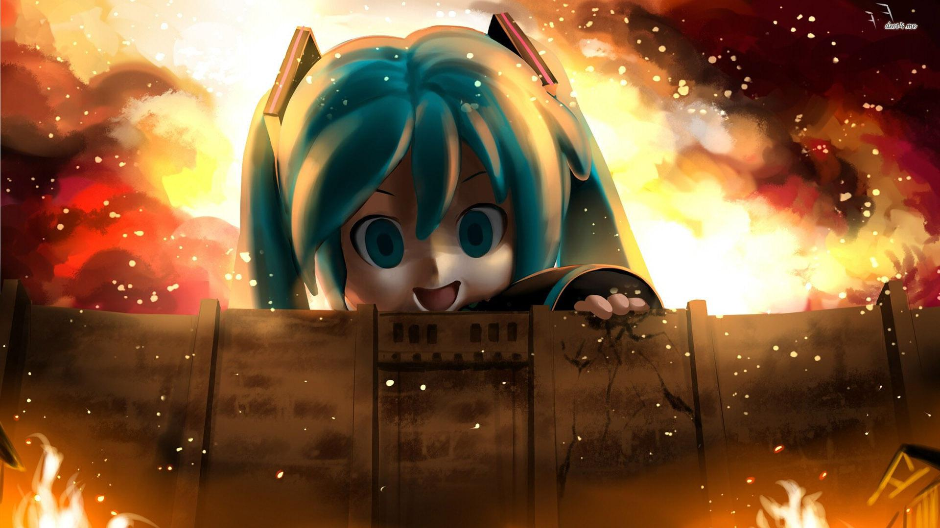 Attack On Titan Chibi Wallpapers Hd Wallpaper Cave