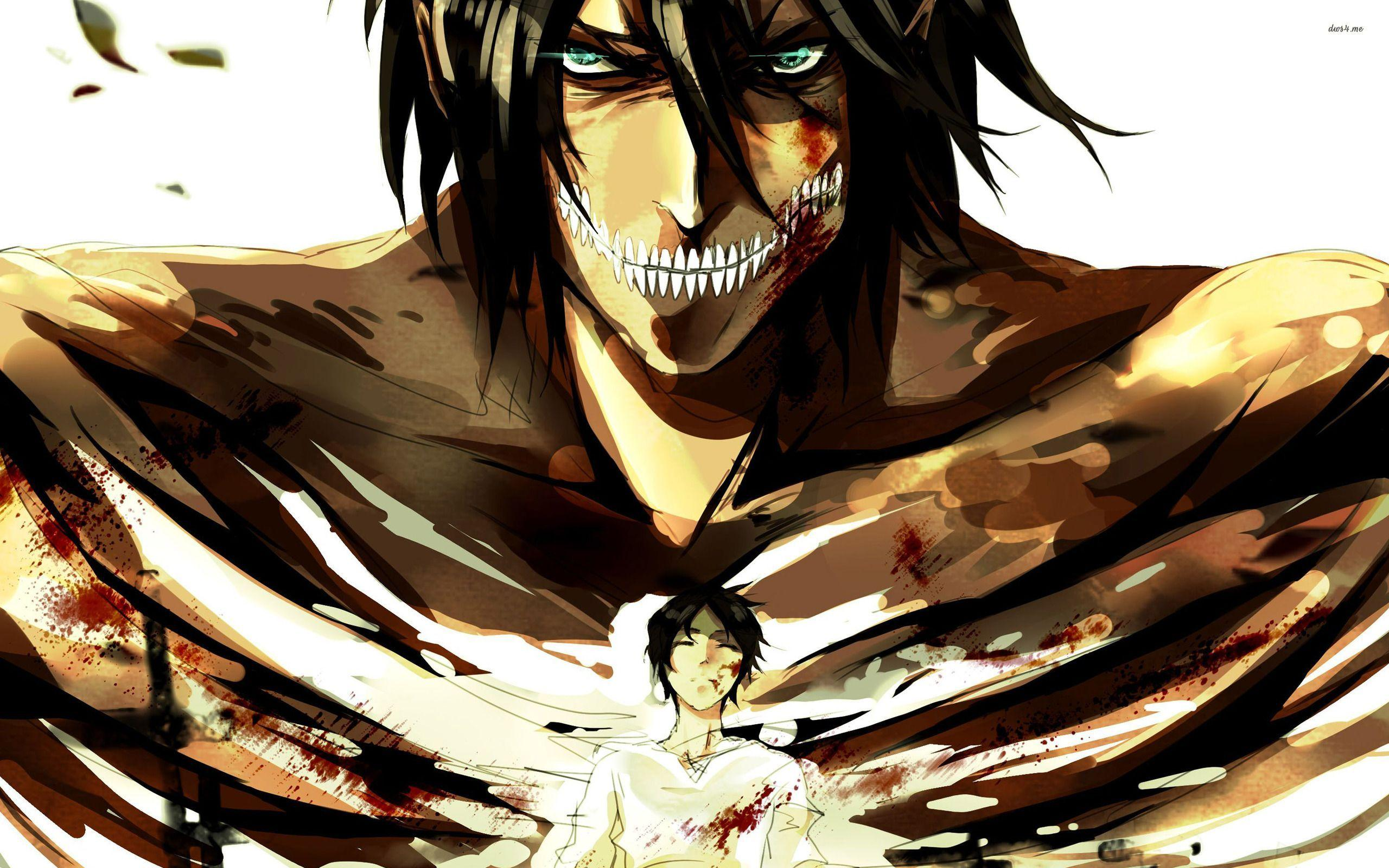 Anime Attack On Titan Eren Yeager Wallpapers