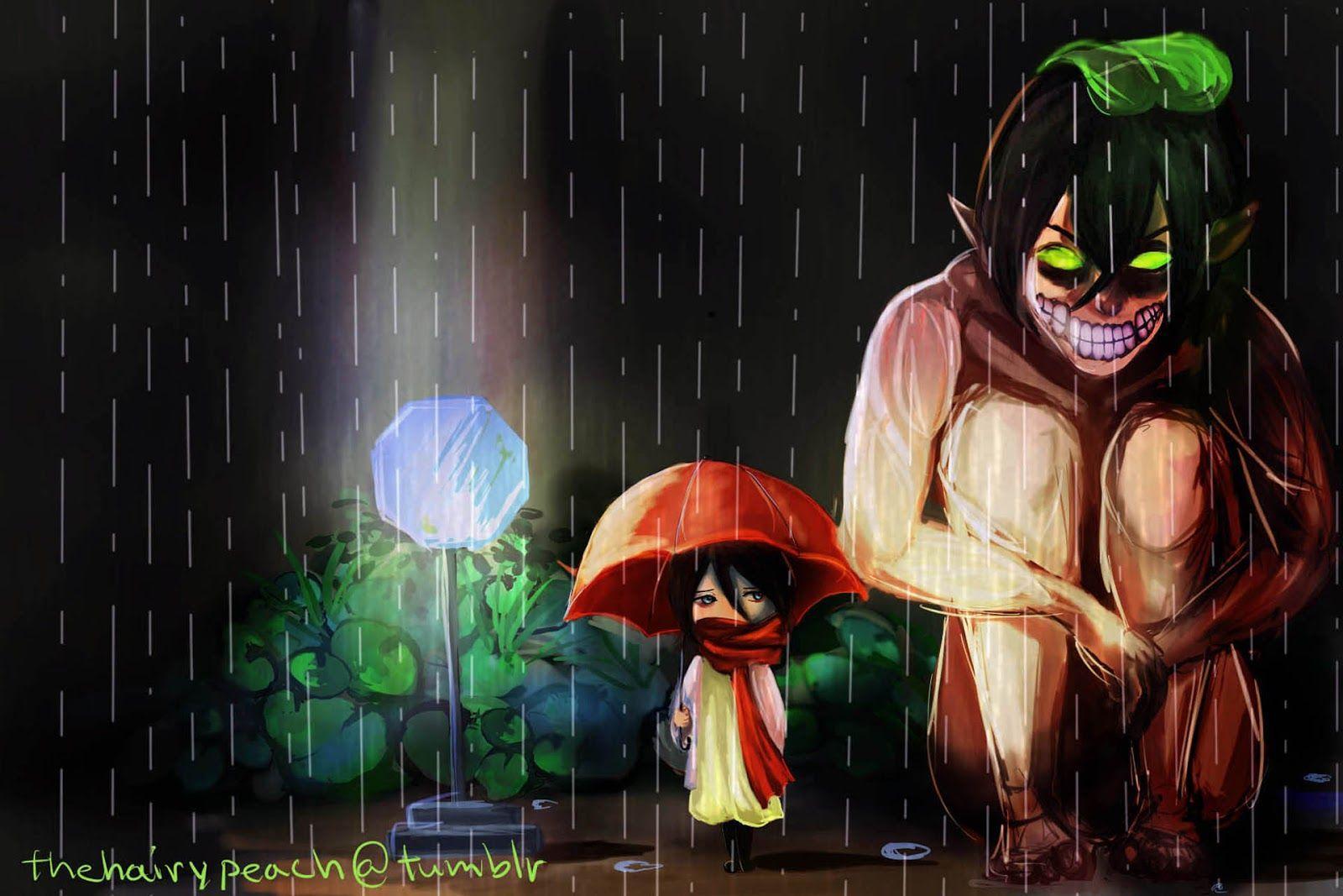 Eren And Mikasa Wallpaper Hd