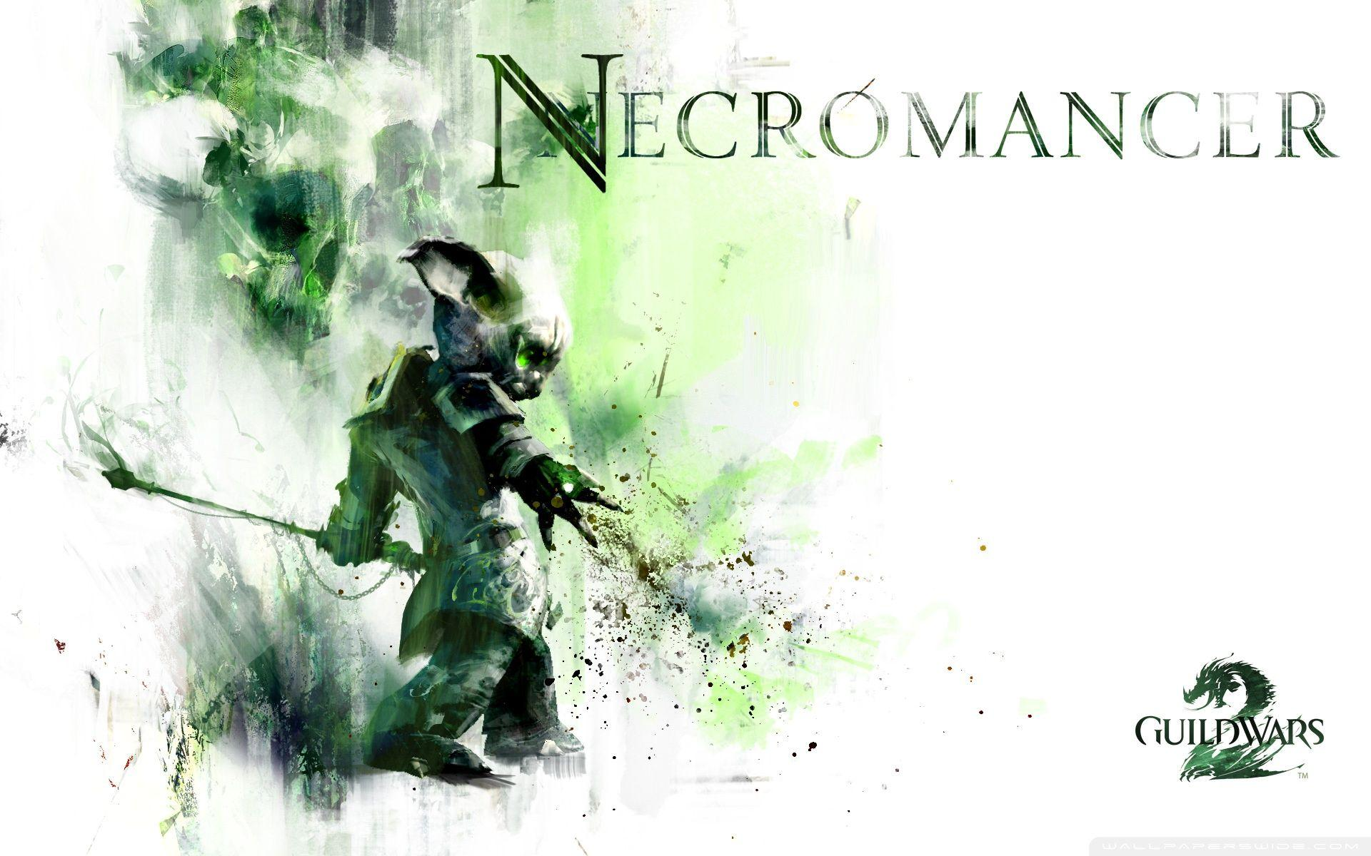 The Necromancer - channel life force from your foes and summon minions to do your every bidding!