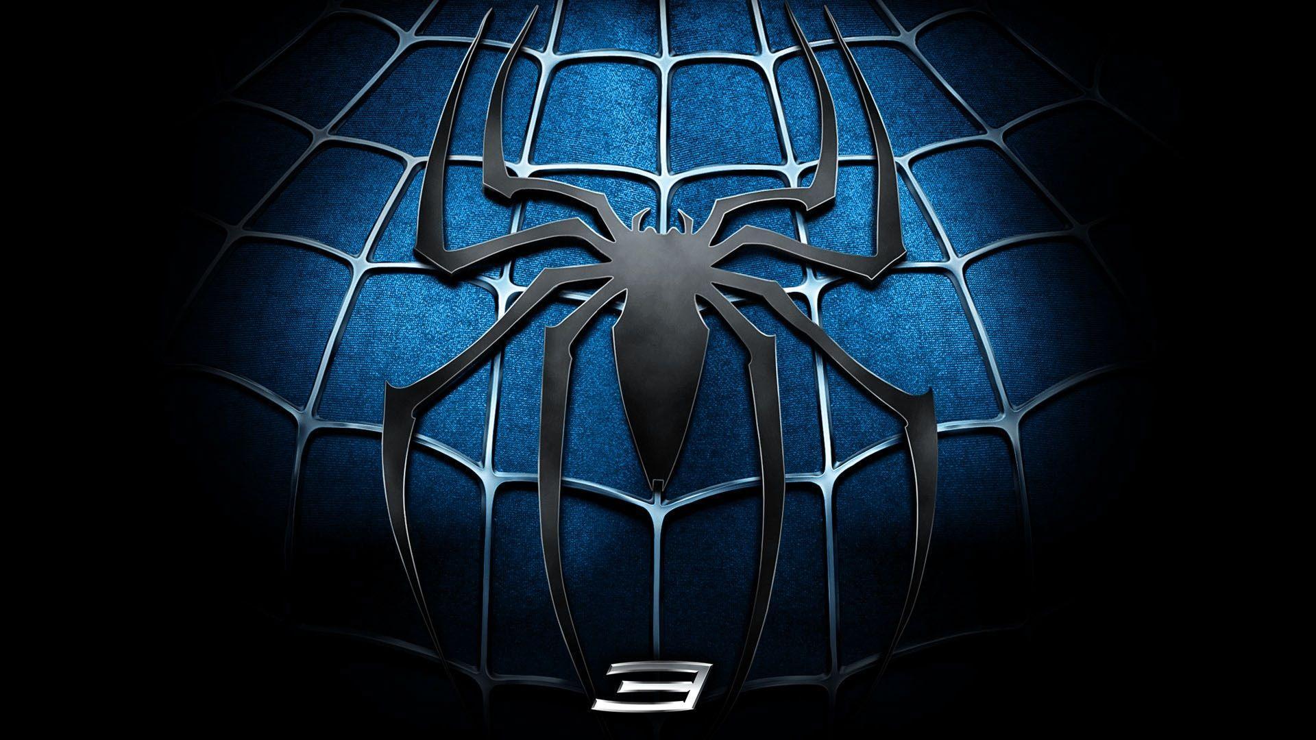 Black Spiderman Logo Wallpapers Wallpaper Cave