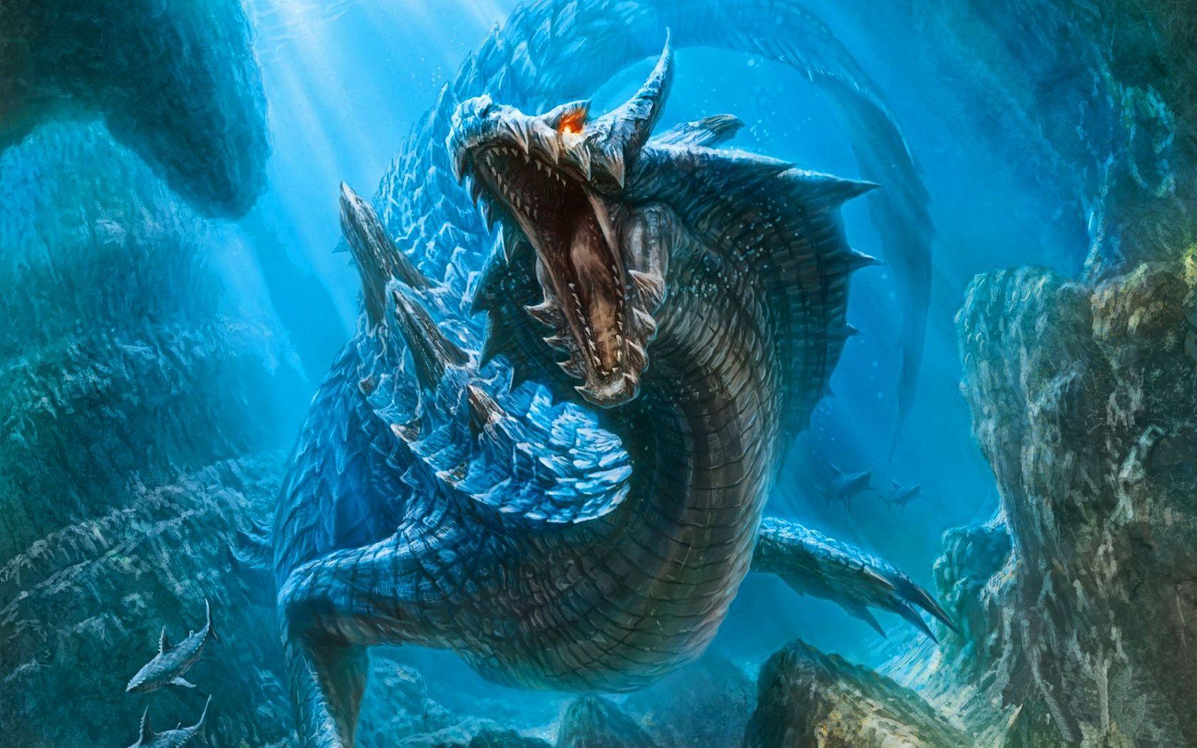 Water Dragon Wallpapers Hd Wallpaper Cave