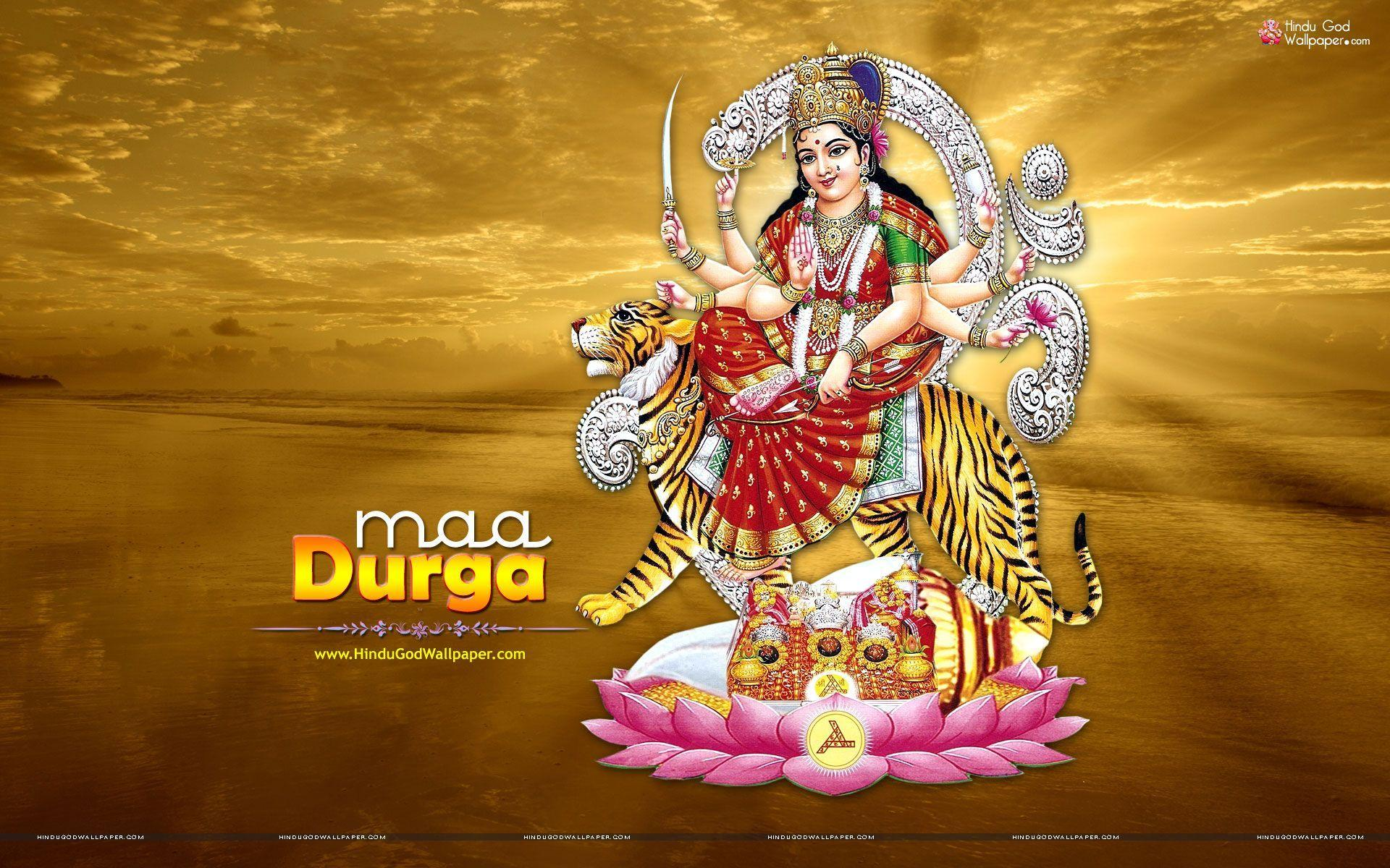 3d God Wallpapers Of Hindu Durga Maa Wallpaper Cave
