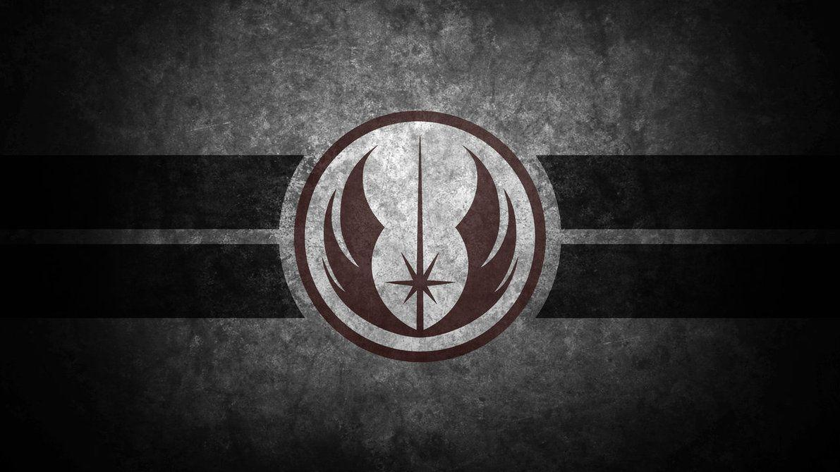 Star Wars Jedi Symbol Wallpapers Wallpaper Cave