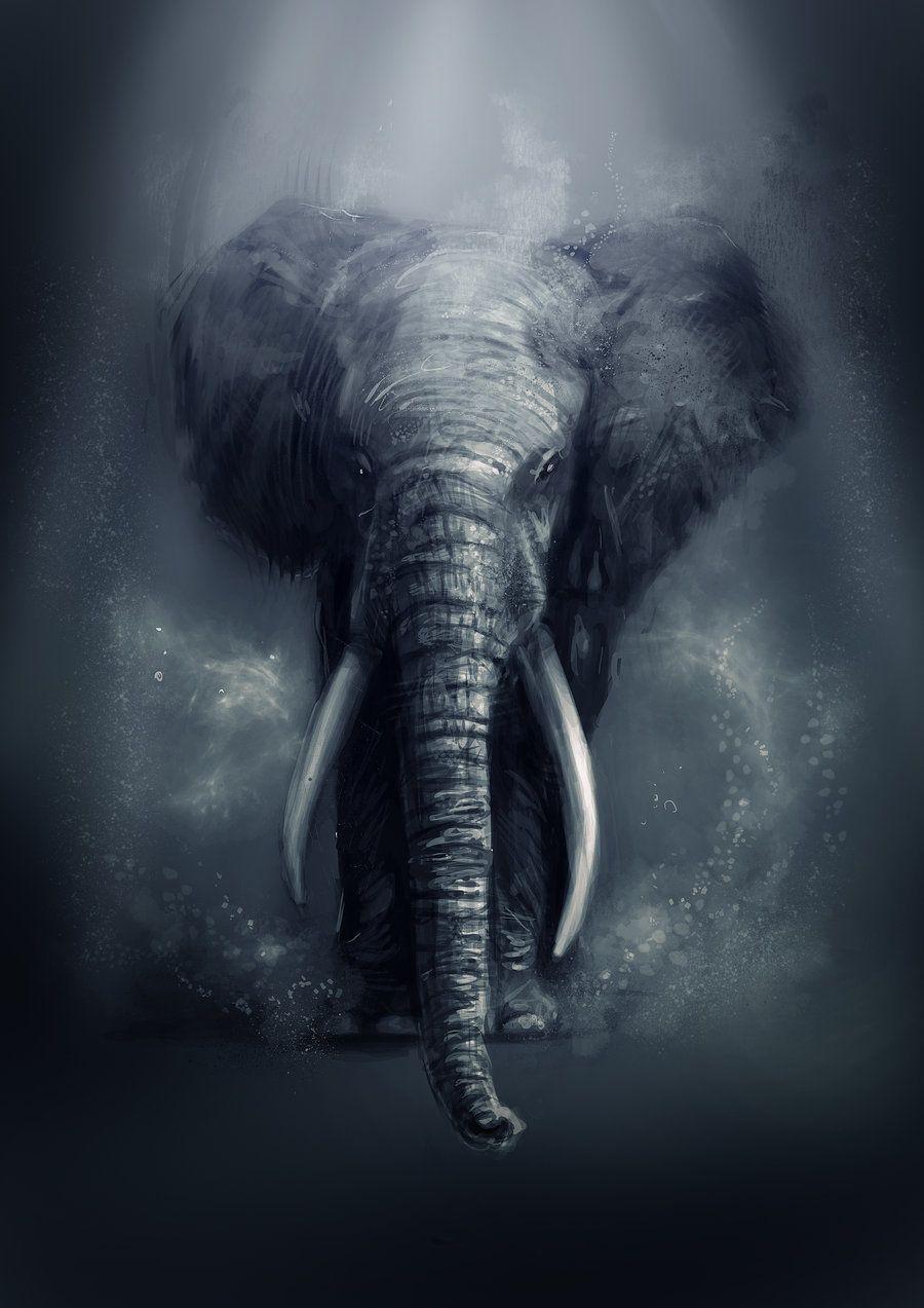 Elephant Art Wallpapers