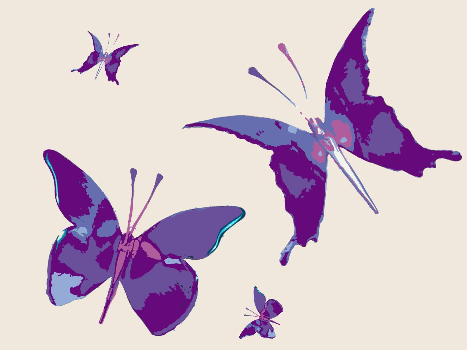 Purple Butterfly Background Images Wallpaper Cave