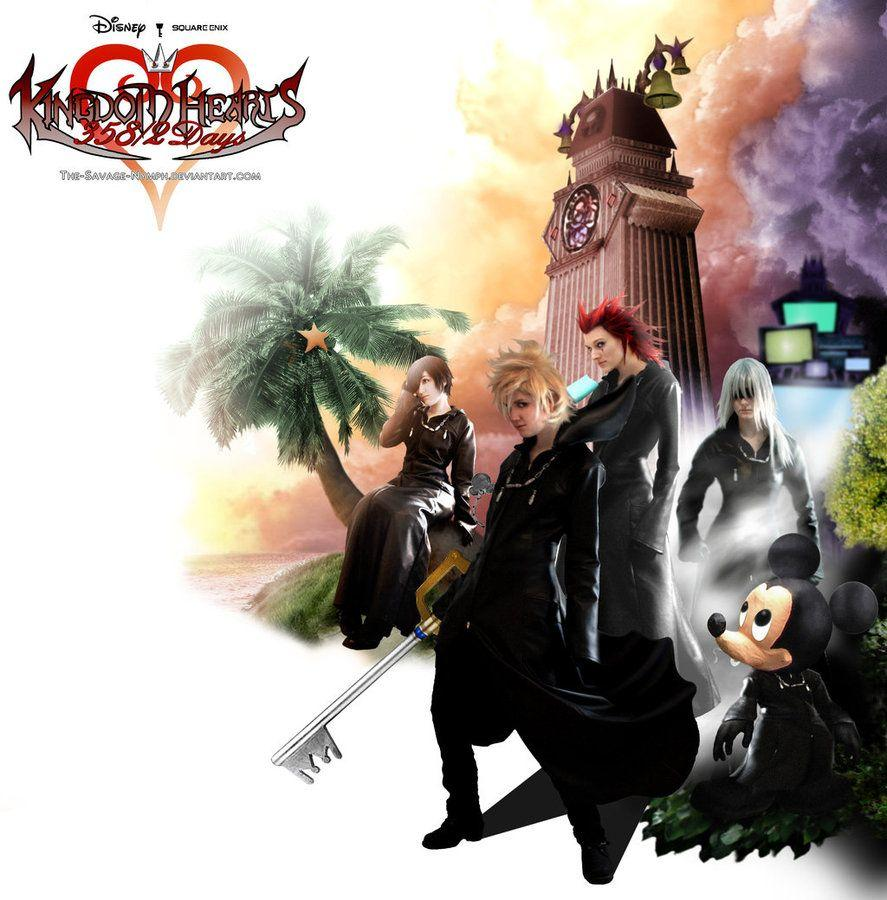 Kingdom Hearts 358 2 Days Wallpapers Wallpaper Cave
