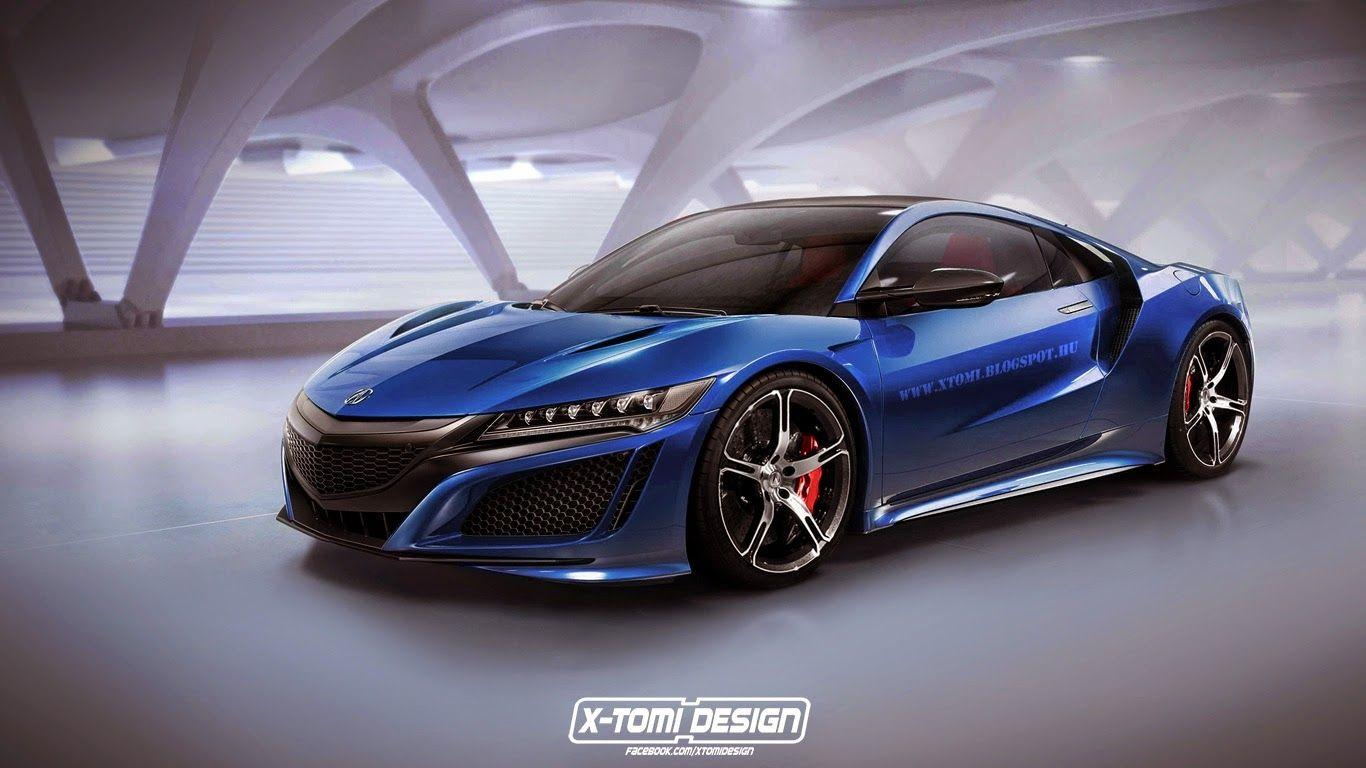 2017 Acura Nsx Type R Rendering Is Awesome To Behold with regard to