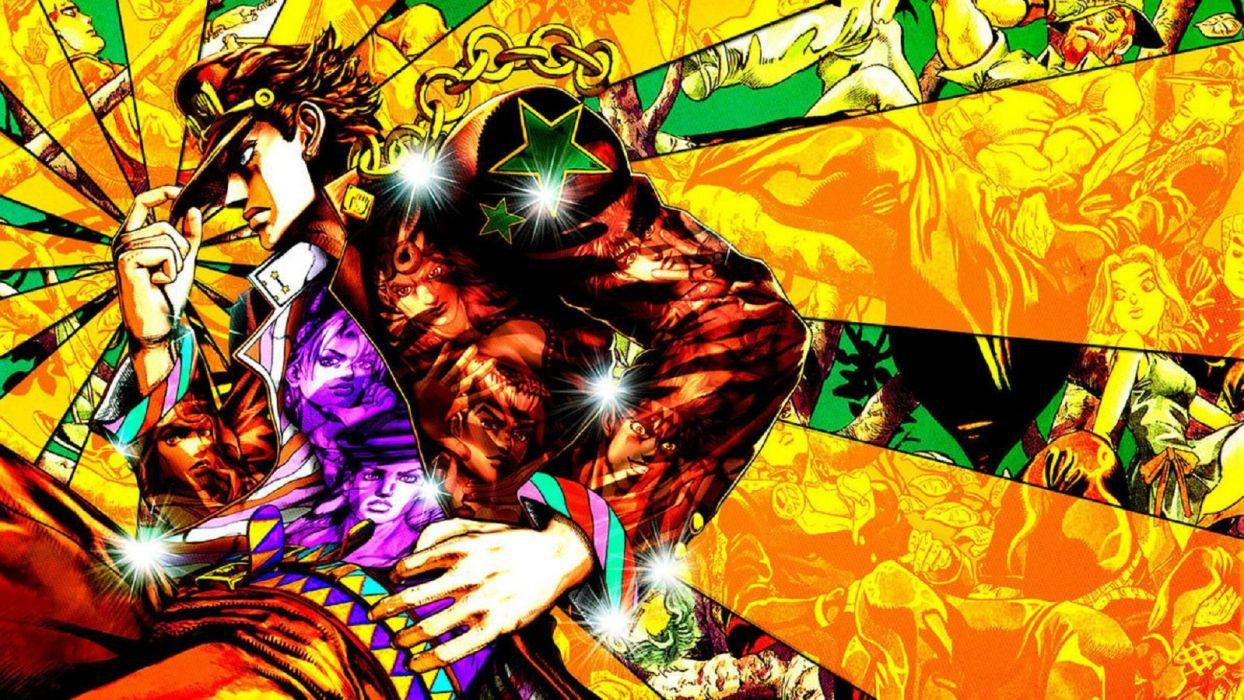 Jojo Bizarre Adventure Wallpapers Wallpaper Cave