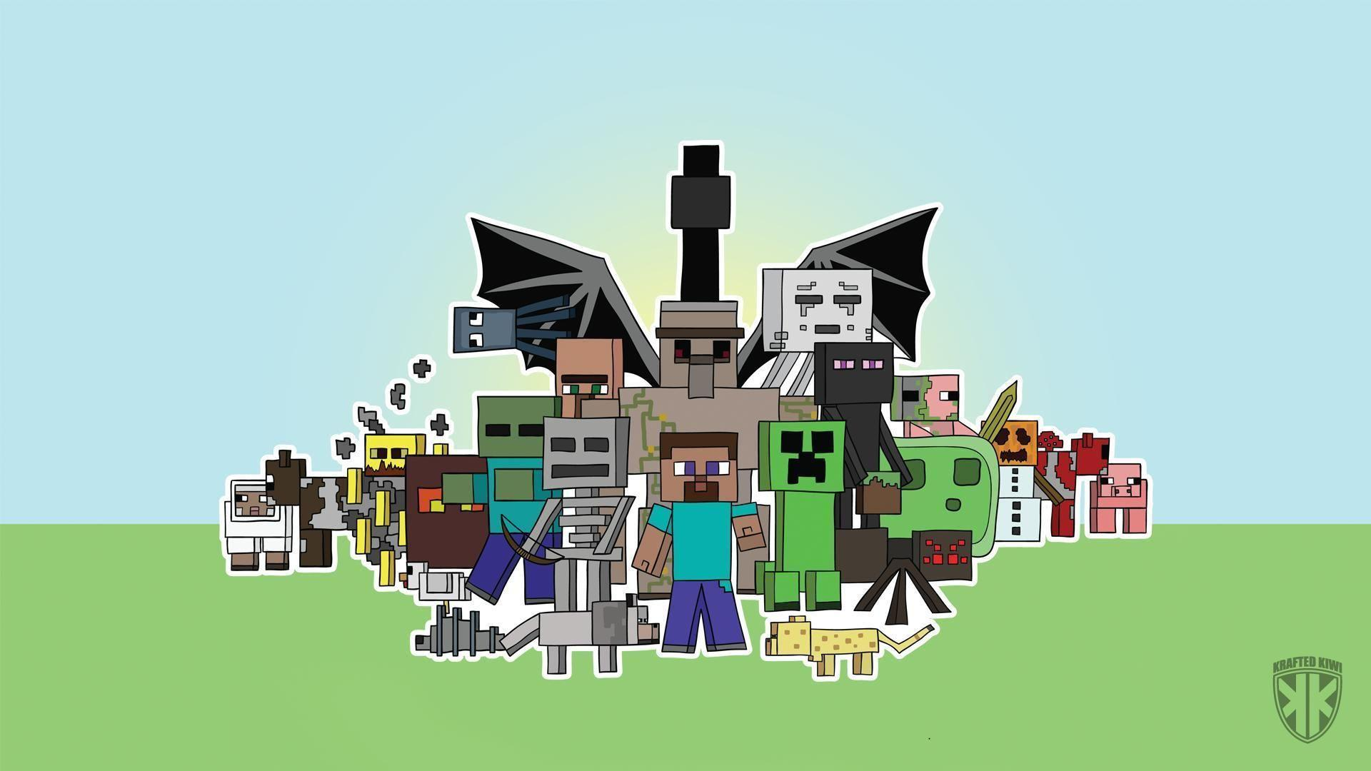 Minecraft Mobs Wallpapers