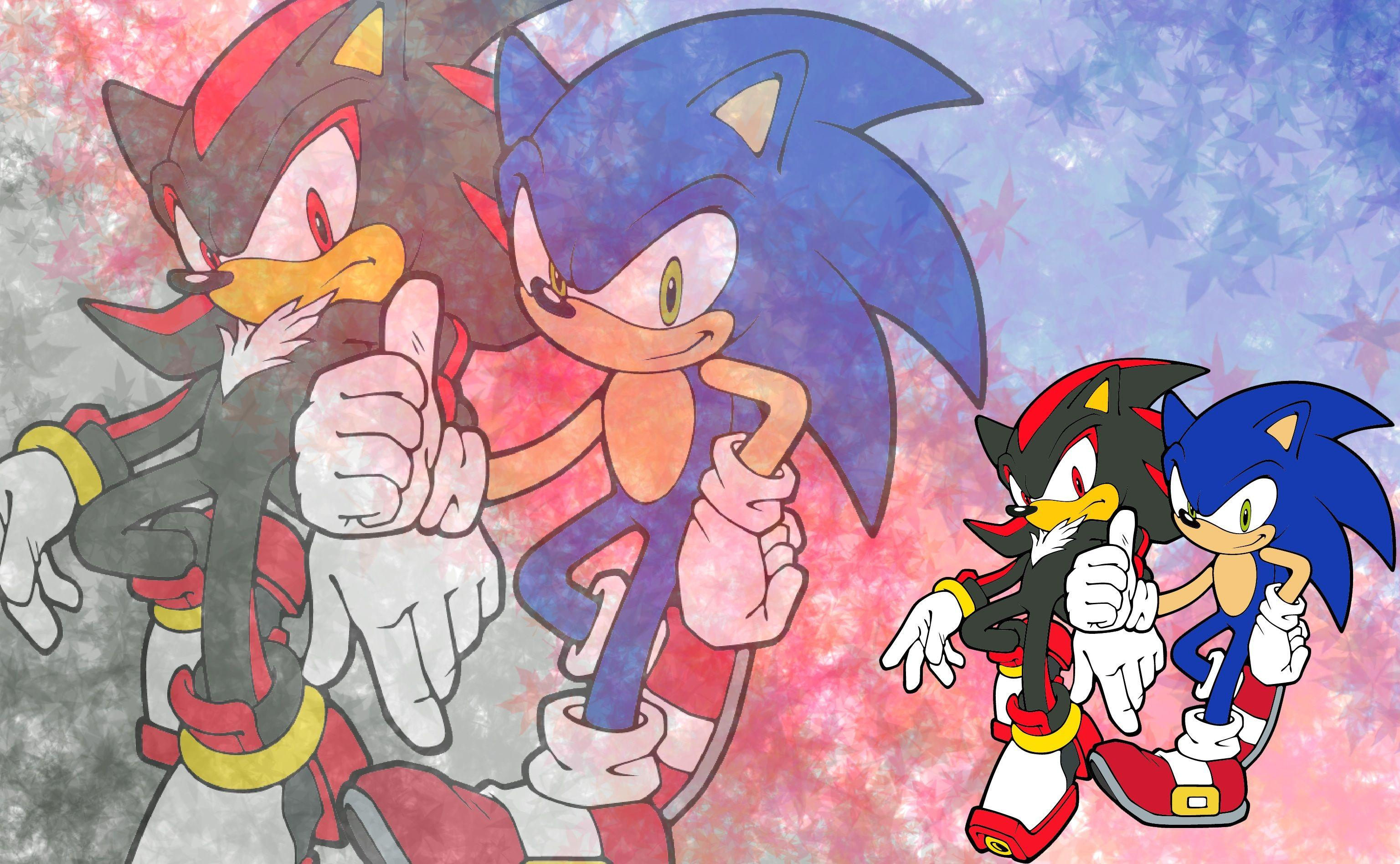 Sonic Adventure 2 Sonic And Shadow Wallpapers Wallpaper Cave