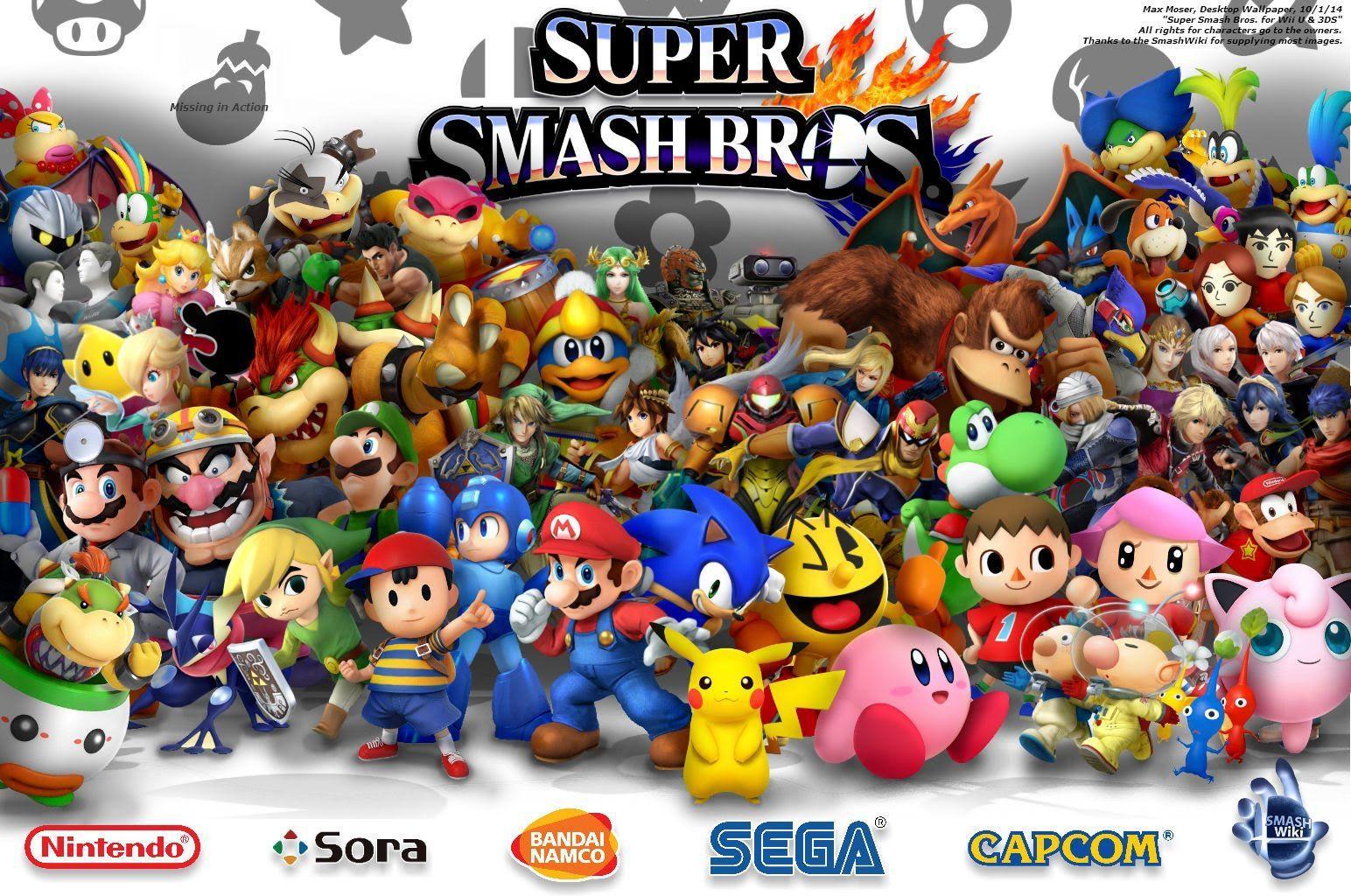 Super Smash Bros Wii U Wallpapers Wallpaper Cave