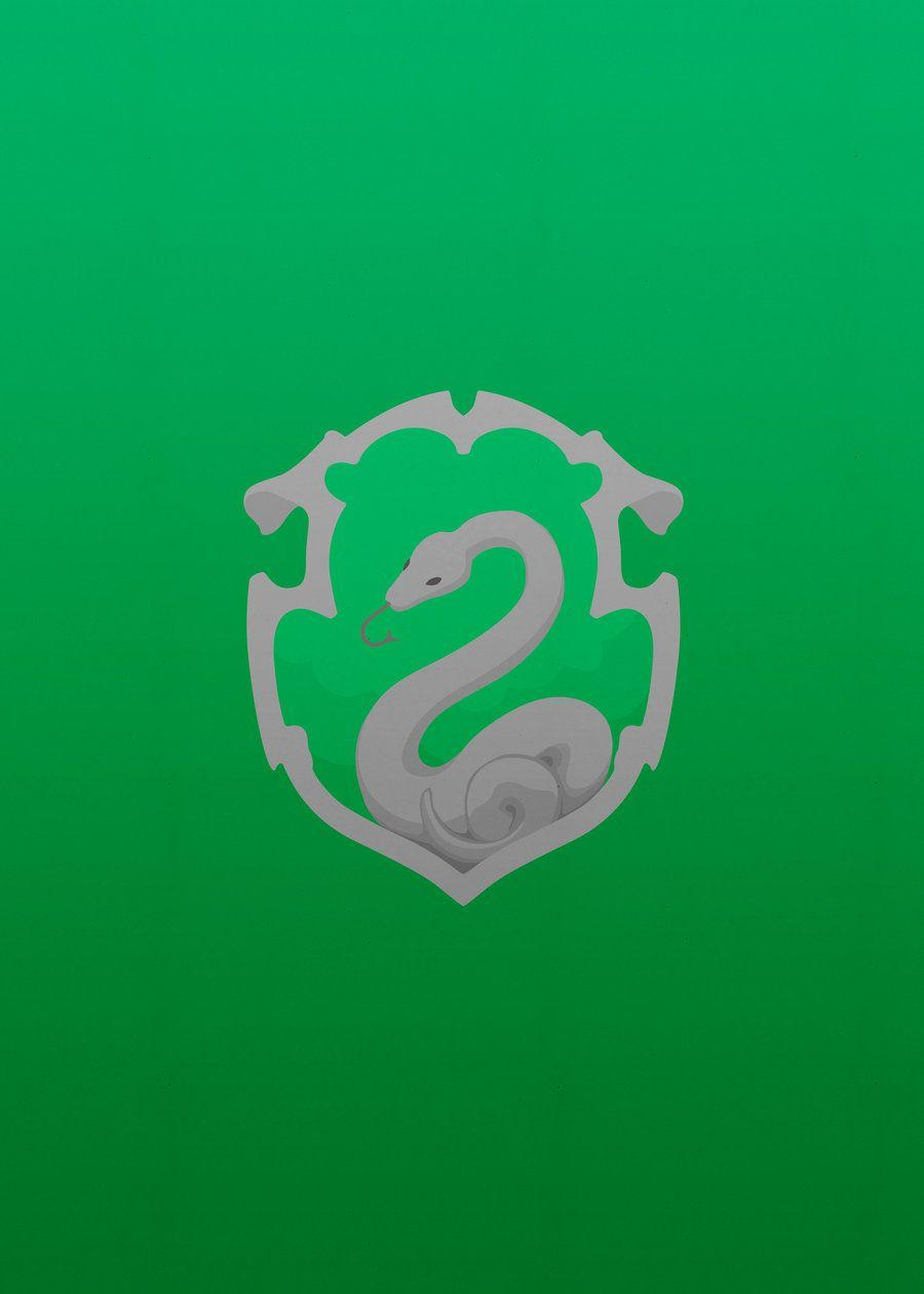 Simple Slytherin Iphone Wallpapers Green White Gray Motive Stupendous