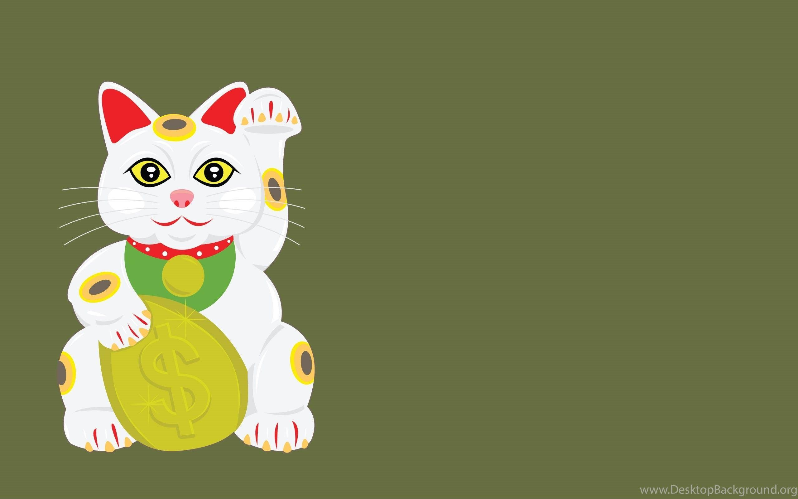 Japanese Lucky Cat Wallpapers