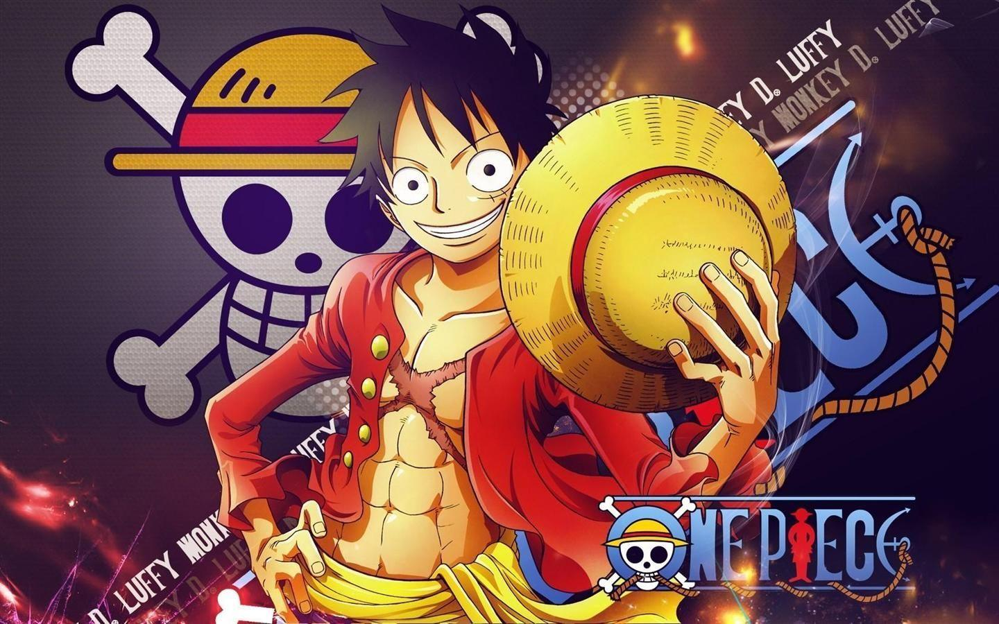 One Piece Monkey D Luffy 2 Years Later New World Wallpaper